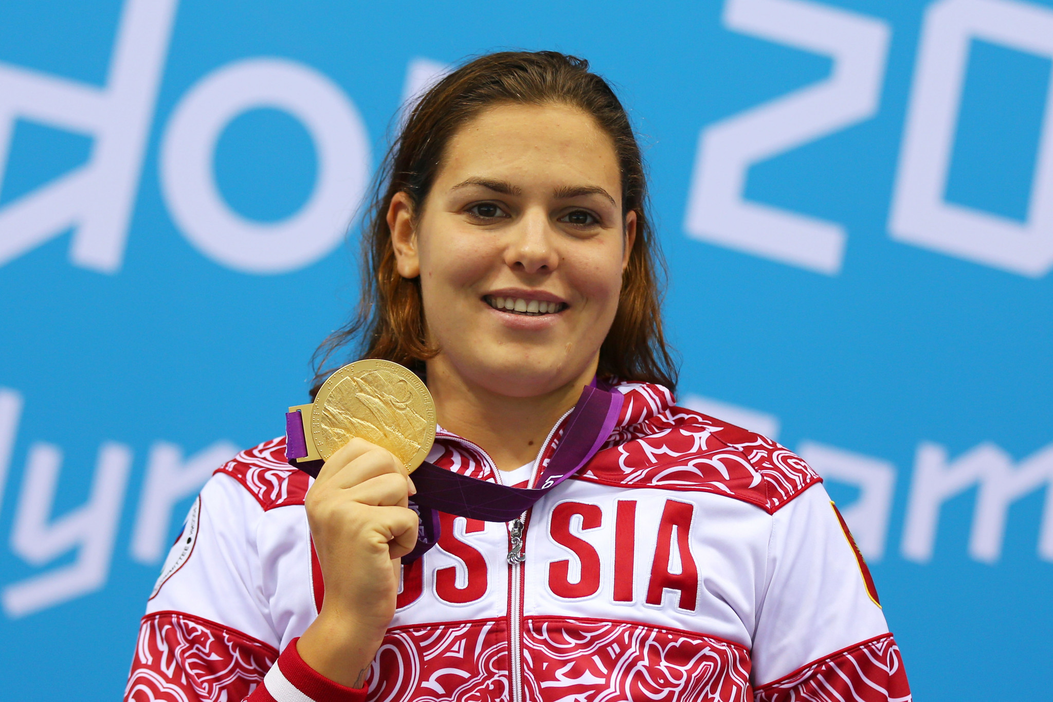 Oksana Savchenko won eight Paralympic swimming titles during her career ©Getty Images