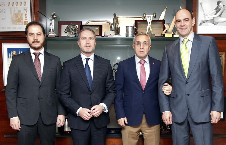 The Spanish Olympic Committee have signed a deal with consultancy company Soxna ©Spanish Olympic Committee ©COE