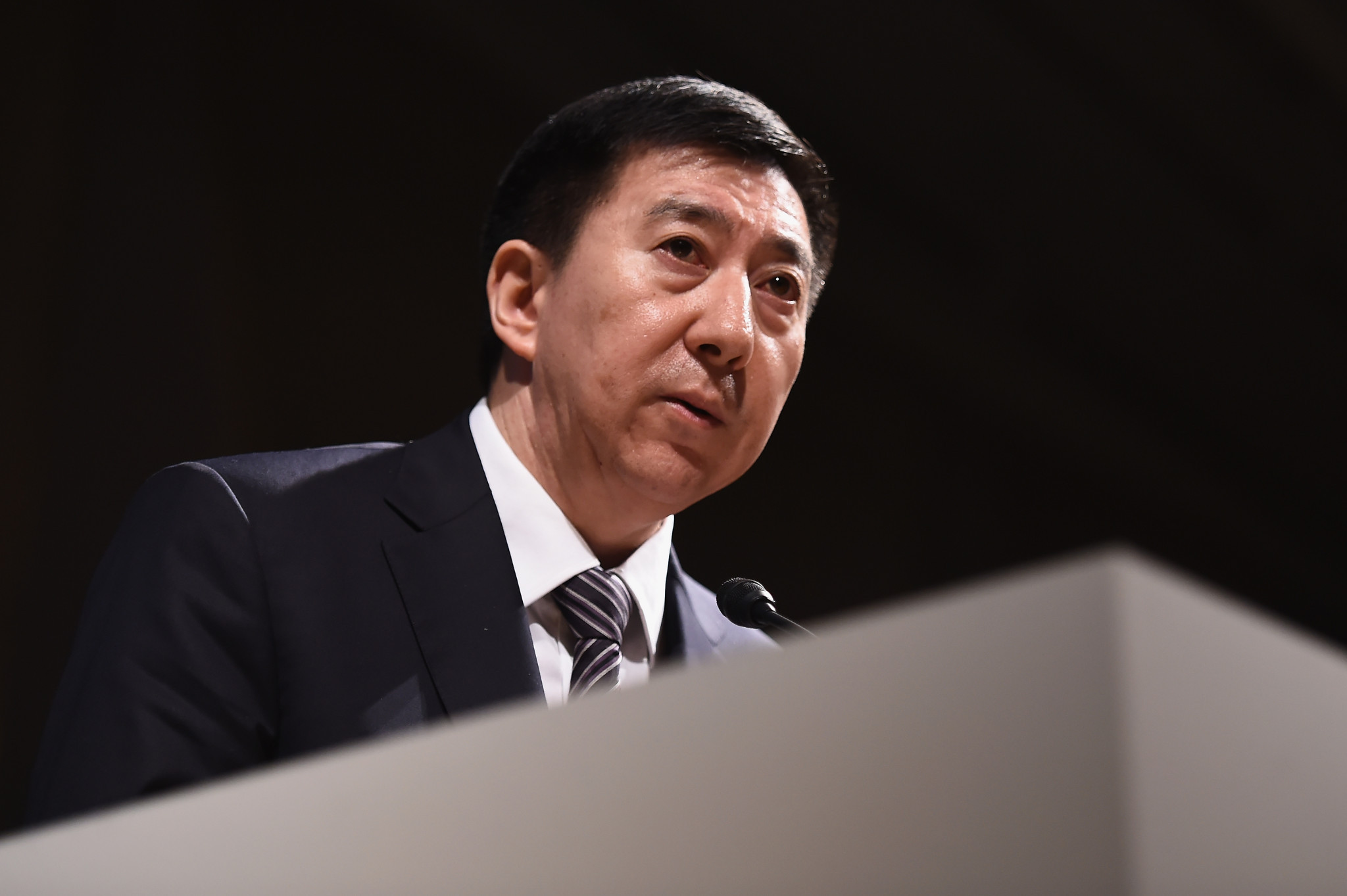 Beijing 2022 executive vice-president Zhang Jiandong claimed a high standard of preparation has been maintained despite the impact of the coronavirus pandemic ©Getty Images