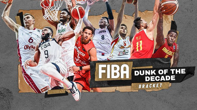 FIBA launch interactive Dunk of the Decade contest