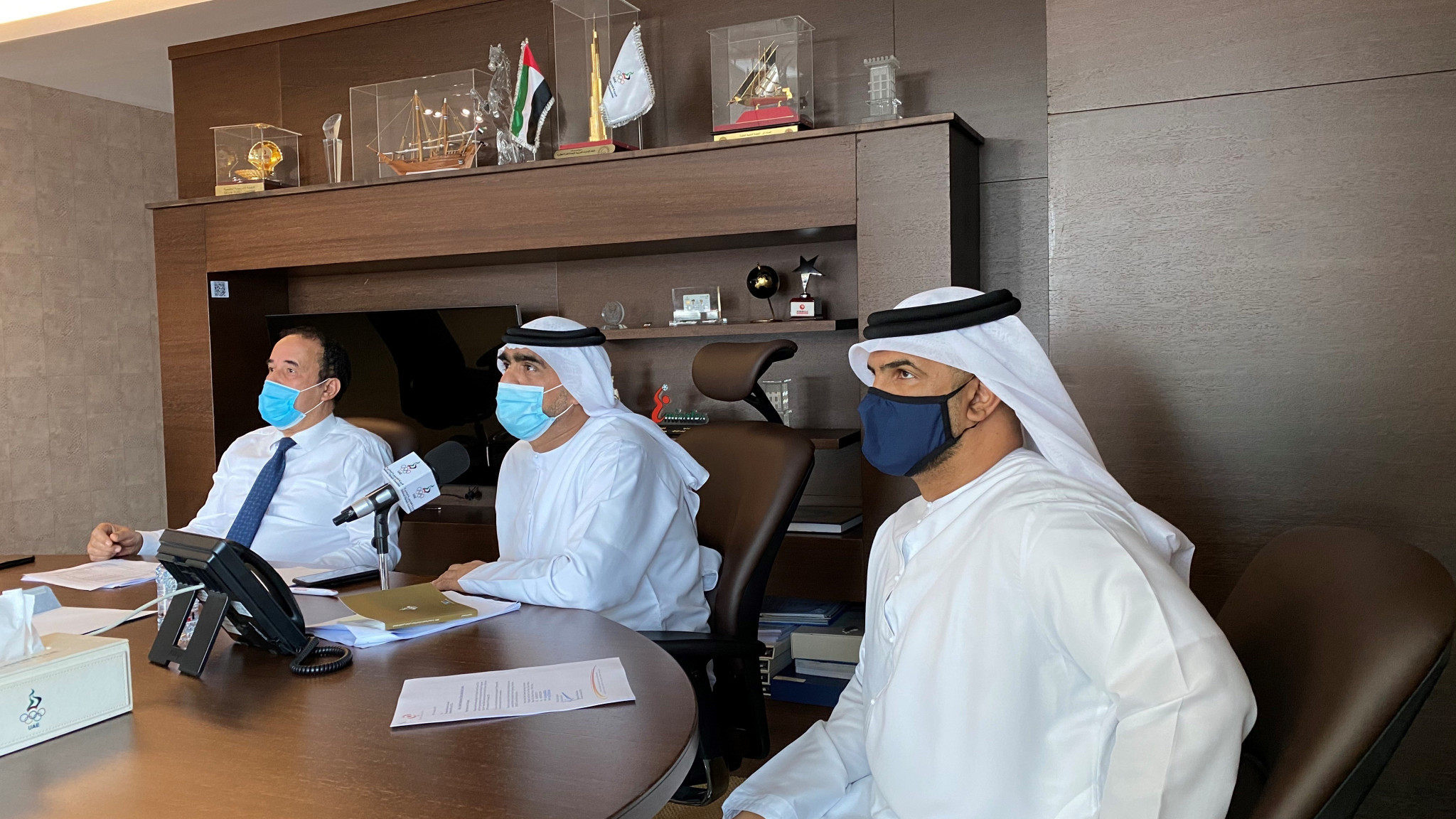 UAE National Olympic Committee meet to prepare for Sanya 2020 Asian Beach Games
