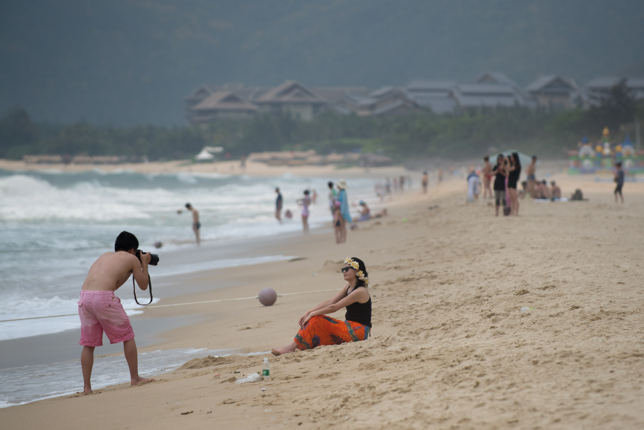 Competition for this year's Asian Beach Games is due to take place in Sanya ©Getty Images