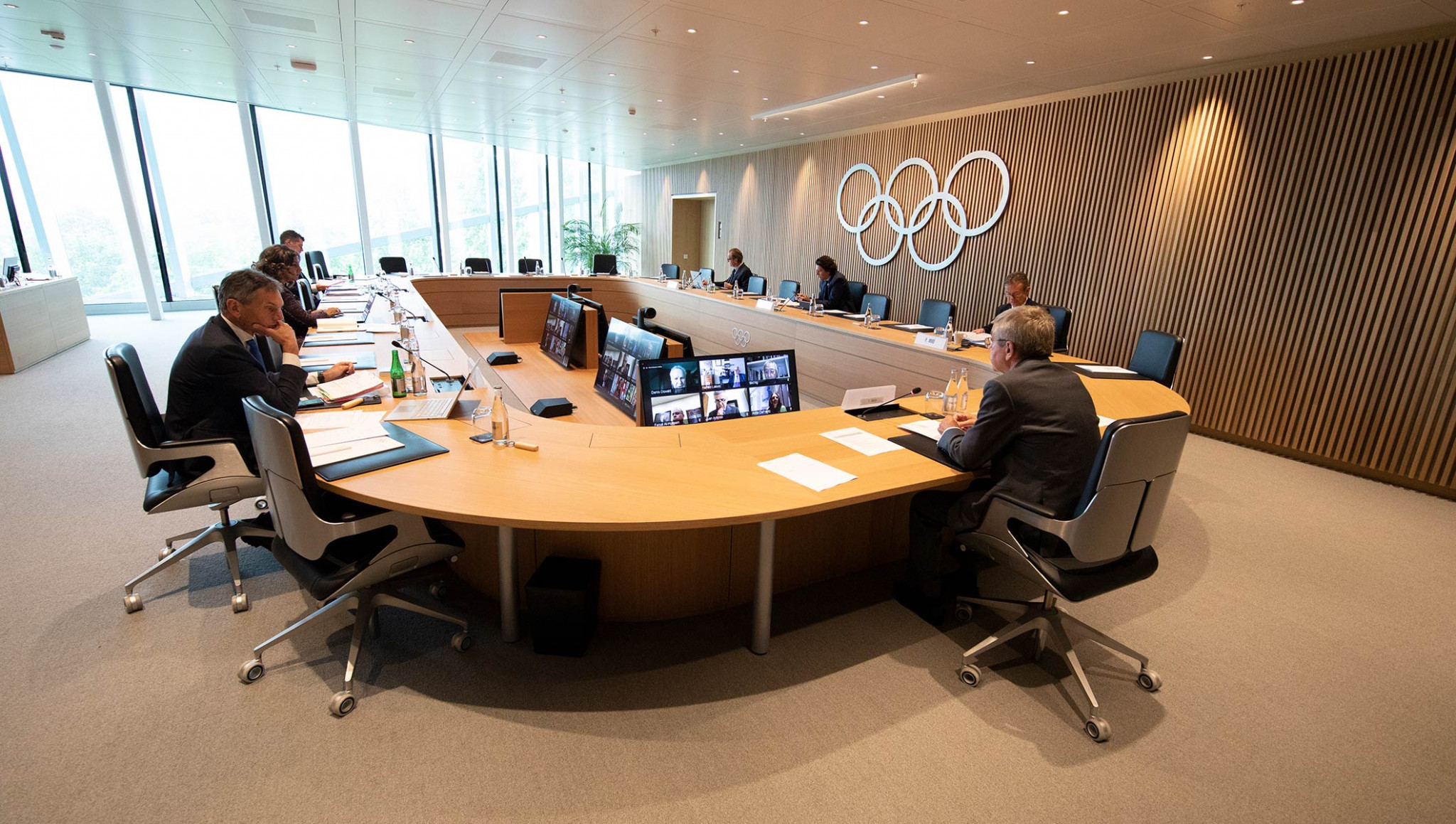 The IOC Executive Board met this week, with anti-discrimination among the topics discussed ©IOC