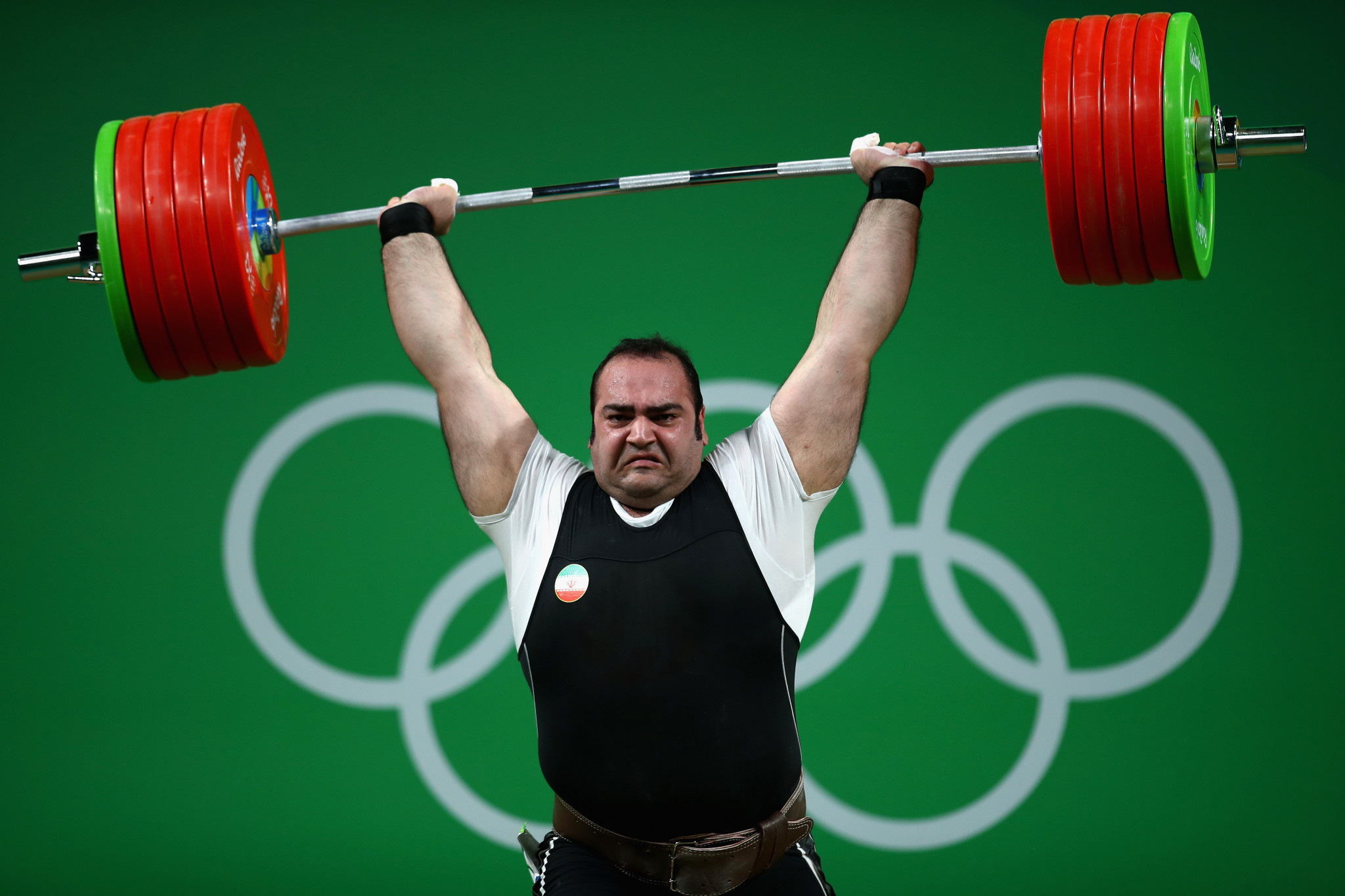 One of Coffa's most vivid memories of Rio 2016 was when Behdad Salimi (above) and his coach protested a