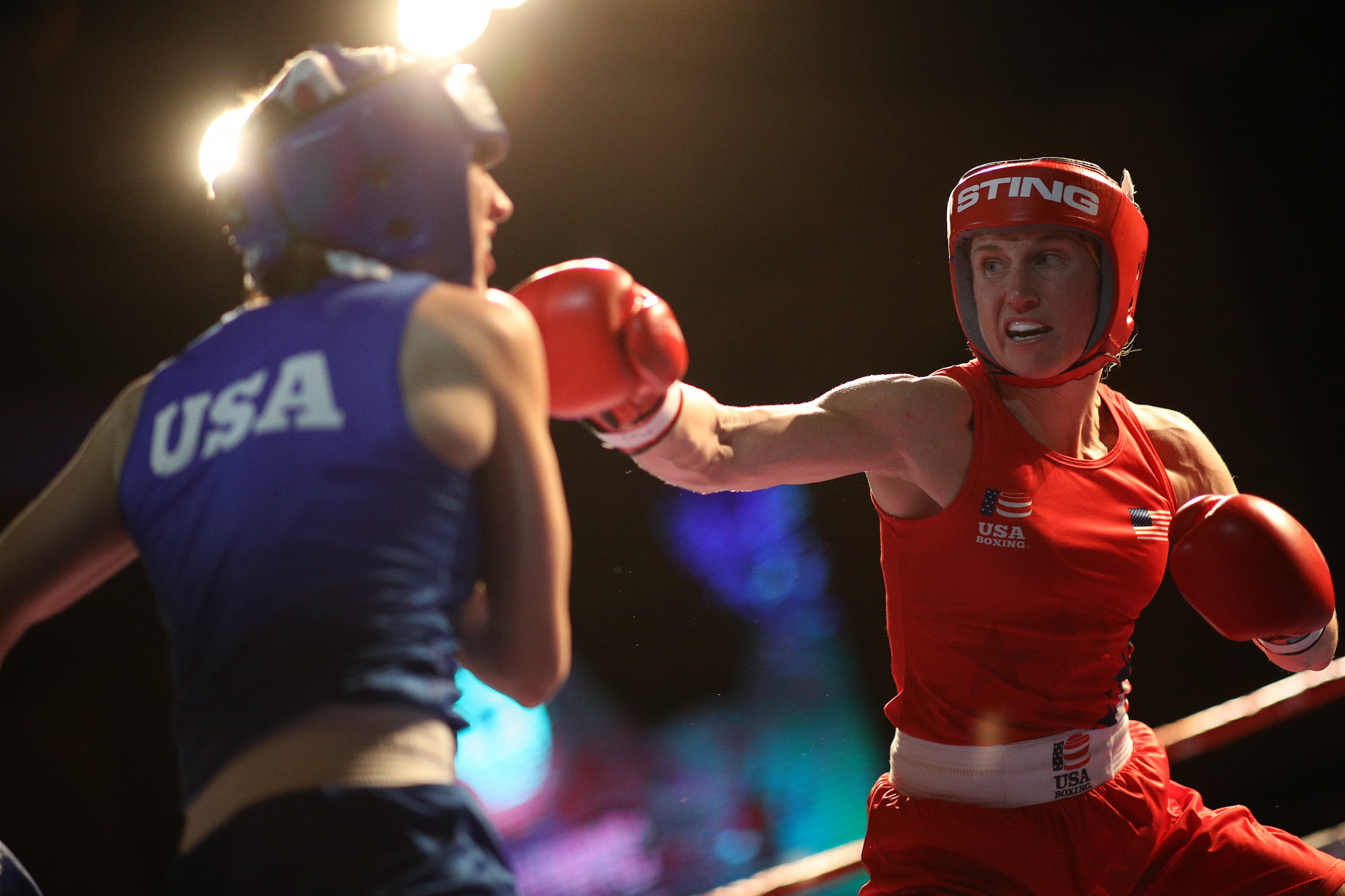 American boxer Virginia Fuchs has been cleared following a positive doping test ©Getty Images
