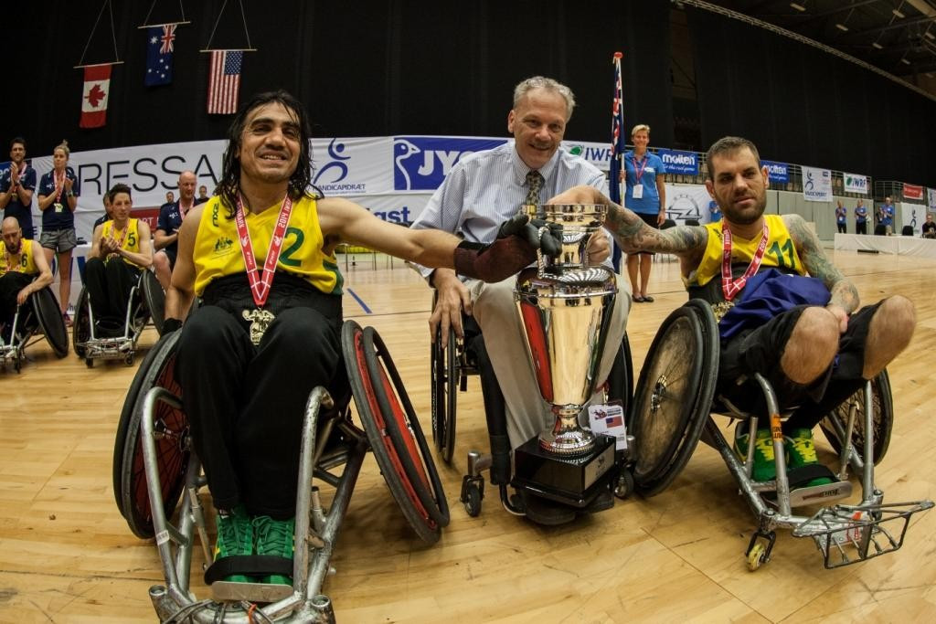 Canada are likely to face world champions and arch-rivals Australia at the Canada Cup next June ©IWRF
