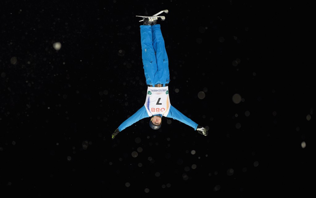 Gustik and Kong claim male and female titles in FIS Freestyle Aerials World Cup at Bird's Nest Stadium