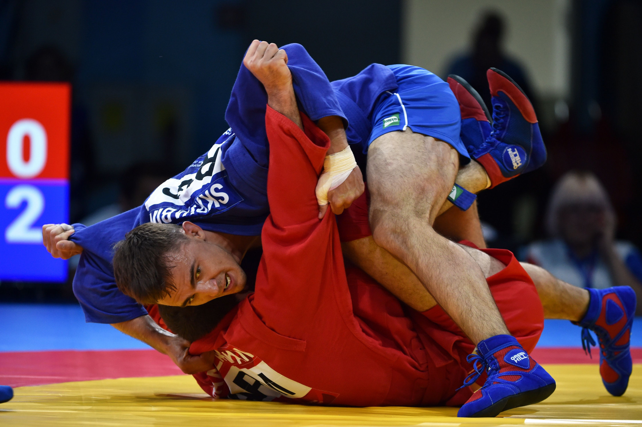 Sambo events have been suspended due to the coronavirus pandemic ©Getty Images