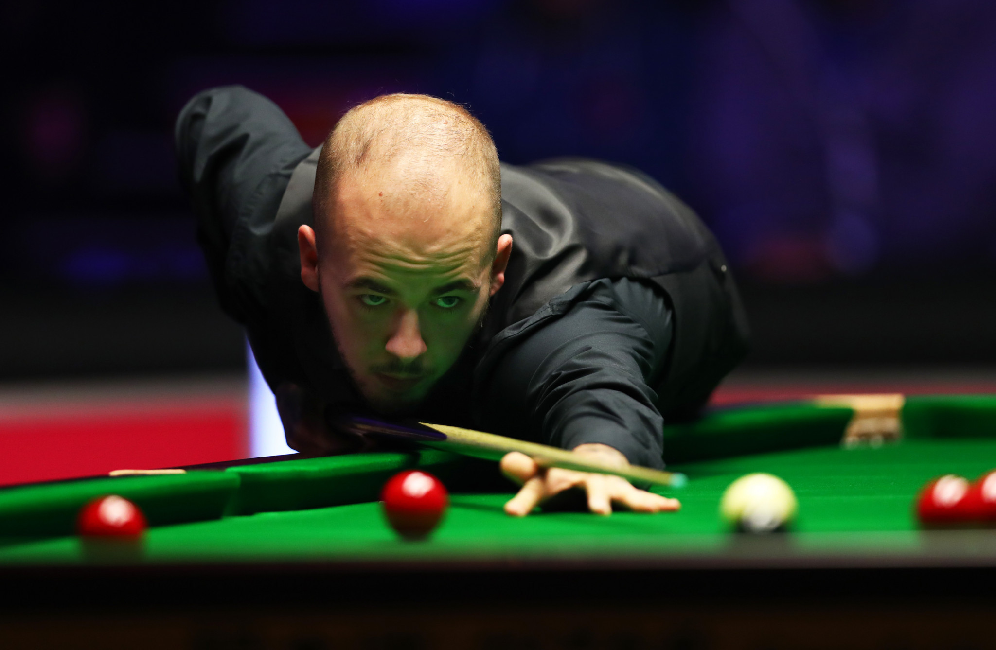 Luca Brecel of Belgium won snooker's Championship League title in Milton Keynes ©Getty Images