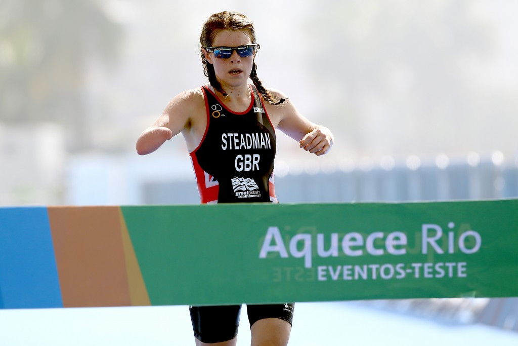 Lauren Steadman claimed test event gold in Rio and will be hopeful of repeating the feat in 2016