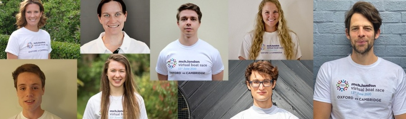 Virtual boat race featuring Olympians and Paralympians won by Cambridge team