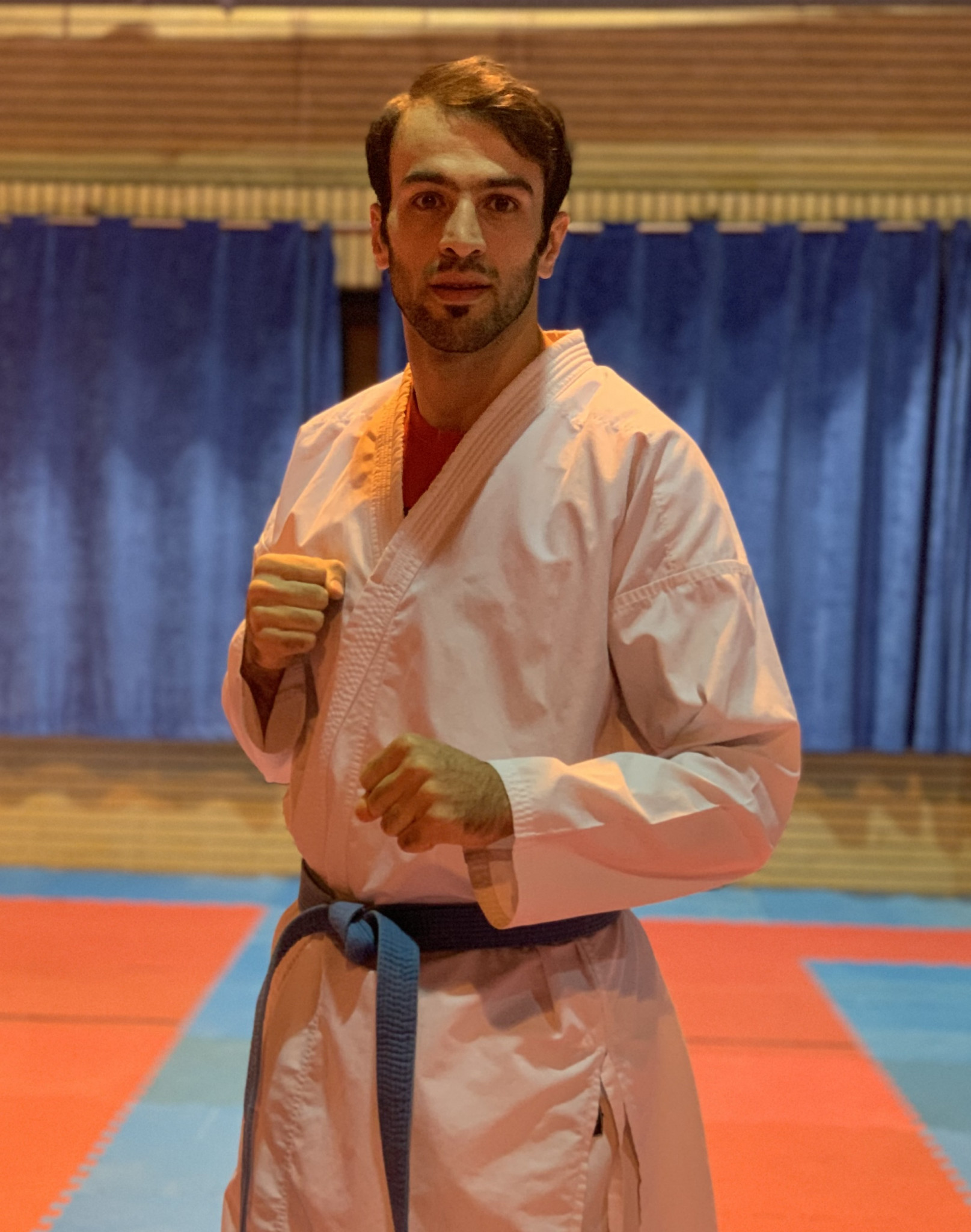 Iranian karateka Askari targeting gold at rearranged Tokyo 2020