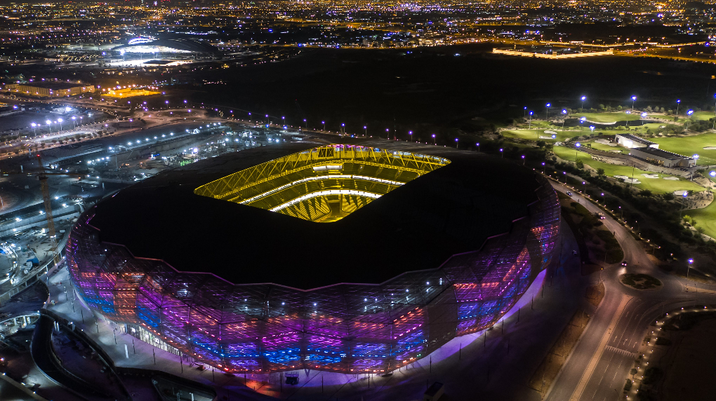 The Education City Stadium will host group matches and a quarter-final ©Qatar 2022