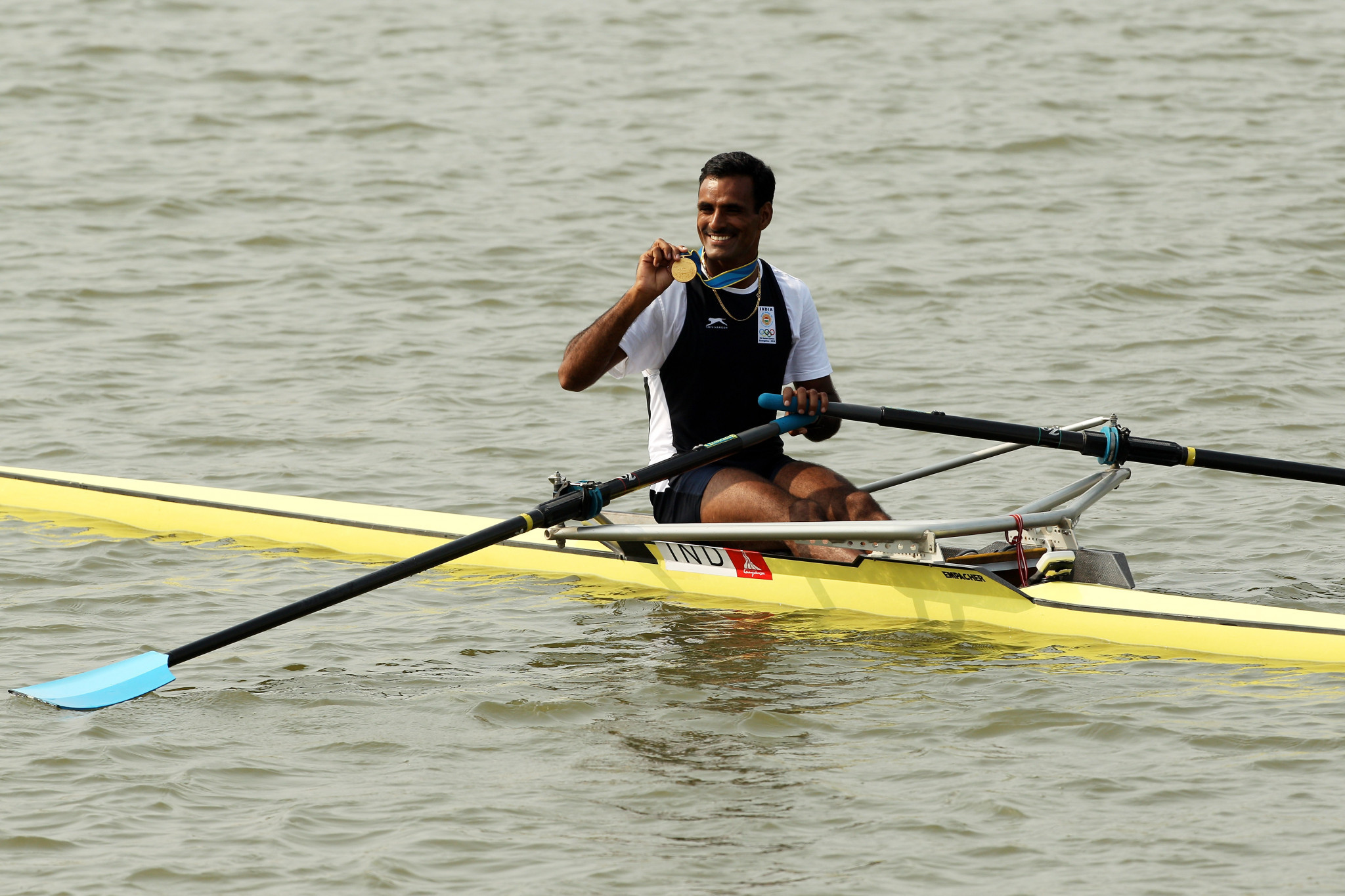 Bajrang Lal Takhar won three Asian Games medals in his career ©Getty Images