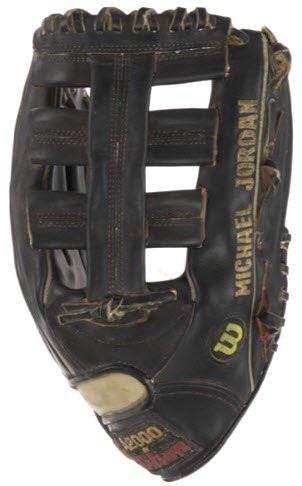 Michael Jordan's monogrammed baseball glove ©Heritage Auctions