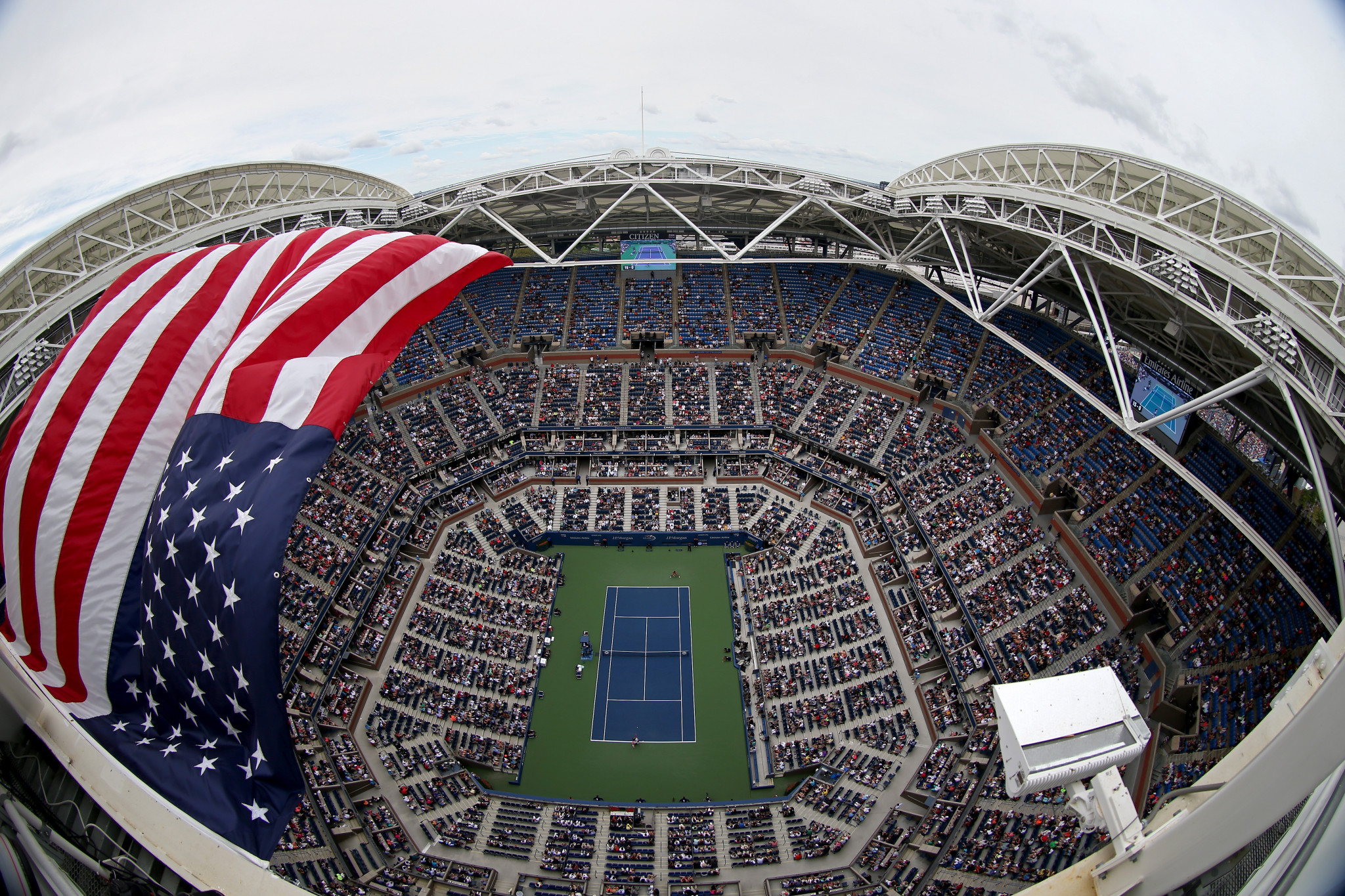 The US Open is set to begin on August 31 in New York as was first planned ©Getty Images