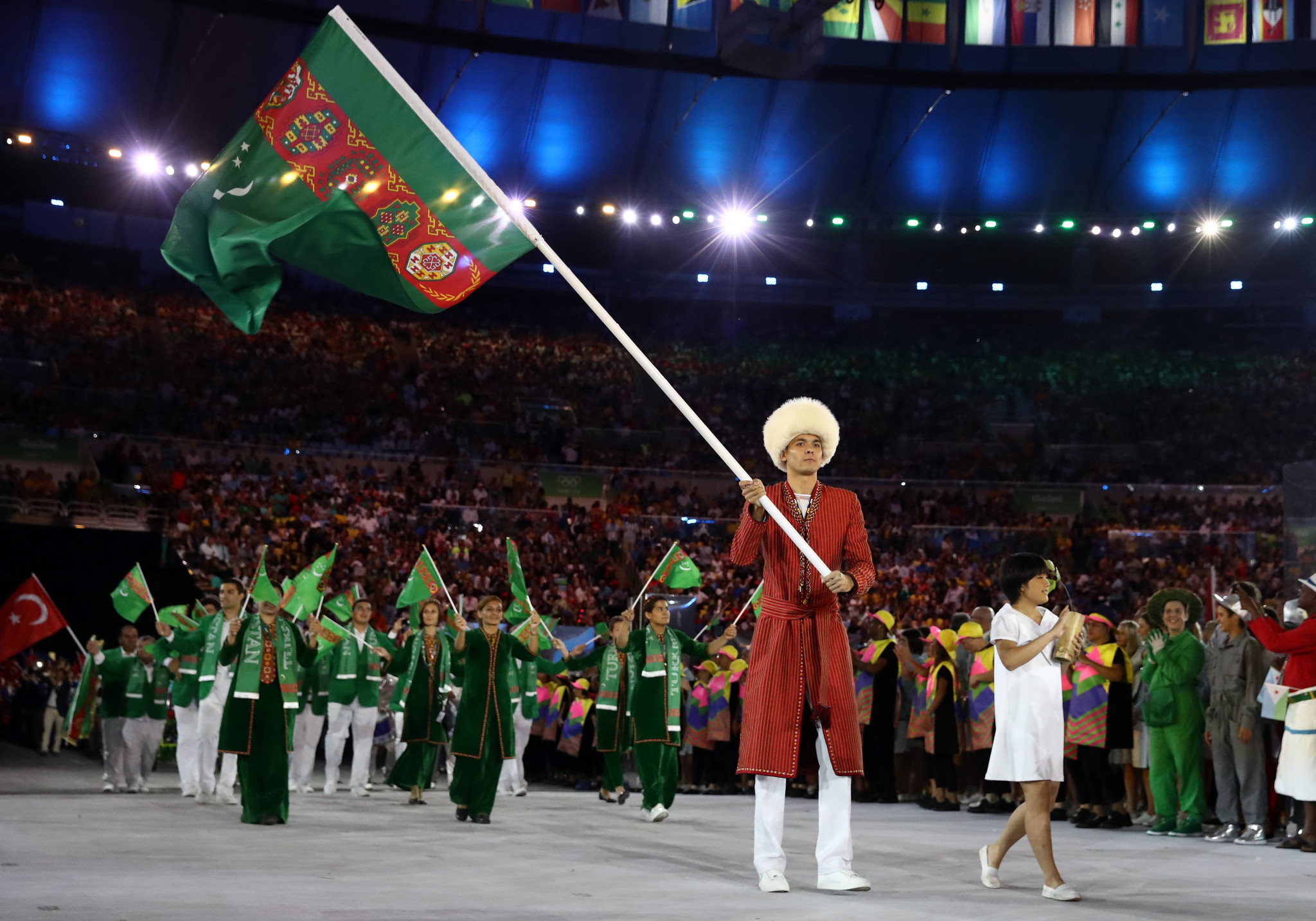 Turkmenistan is due to host the event in Ashgabat ©Getty Images