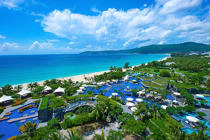 Sanya is due to host the Asian Beach Games in November and December ©OCA