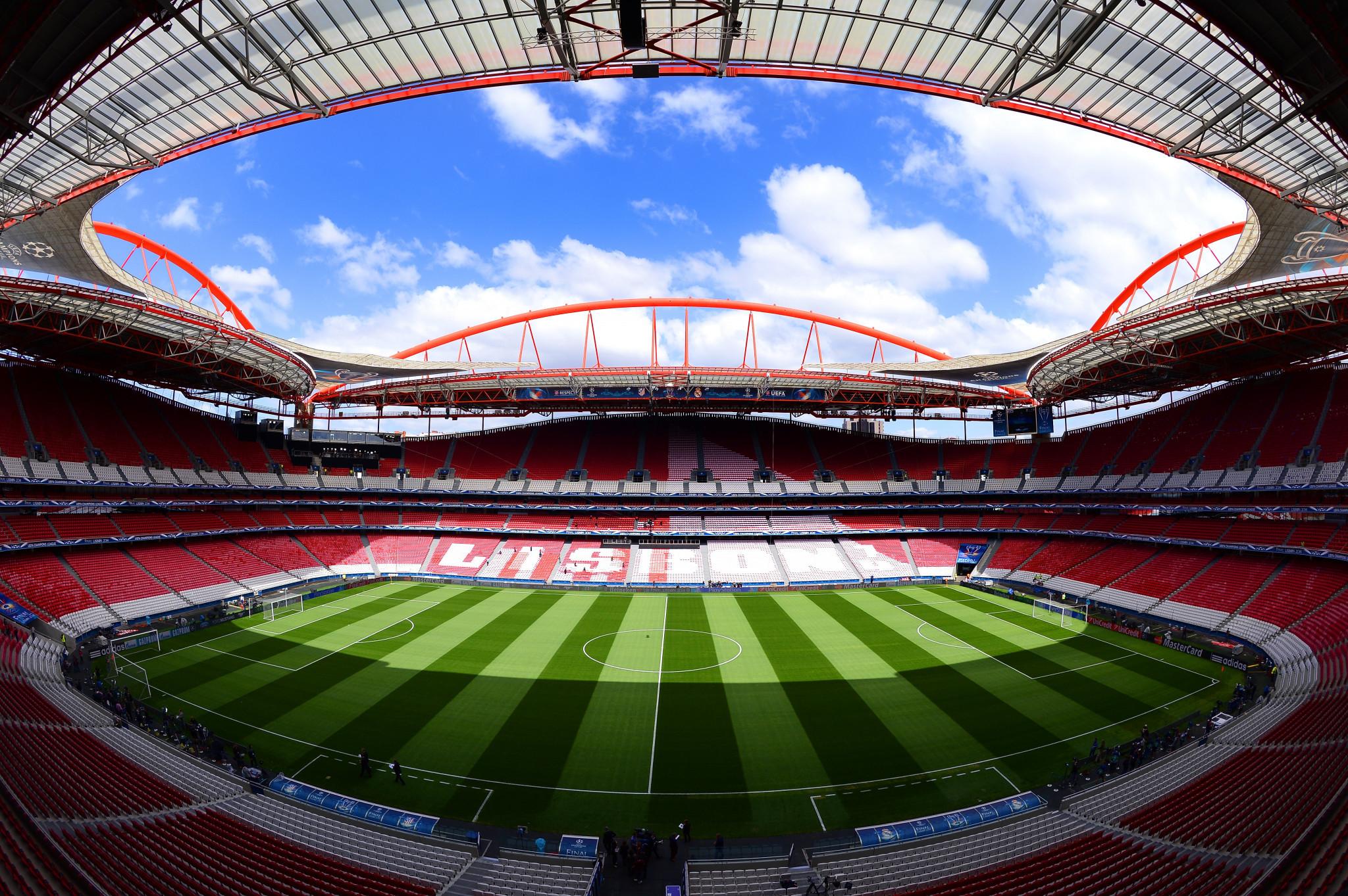 Lisbon's Estádio da Luz is set to host this season's Champions League final ©Getty Images