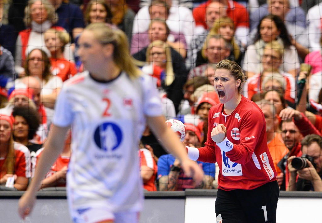 Goalkeeper Kari Grimsbø was picked out for special praise by Norway's coach Thorir Hergeirsson after his team beat The Netherlands to win the World Championships title for the third time ©Getty Images