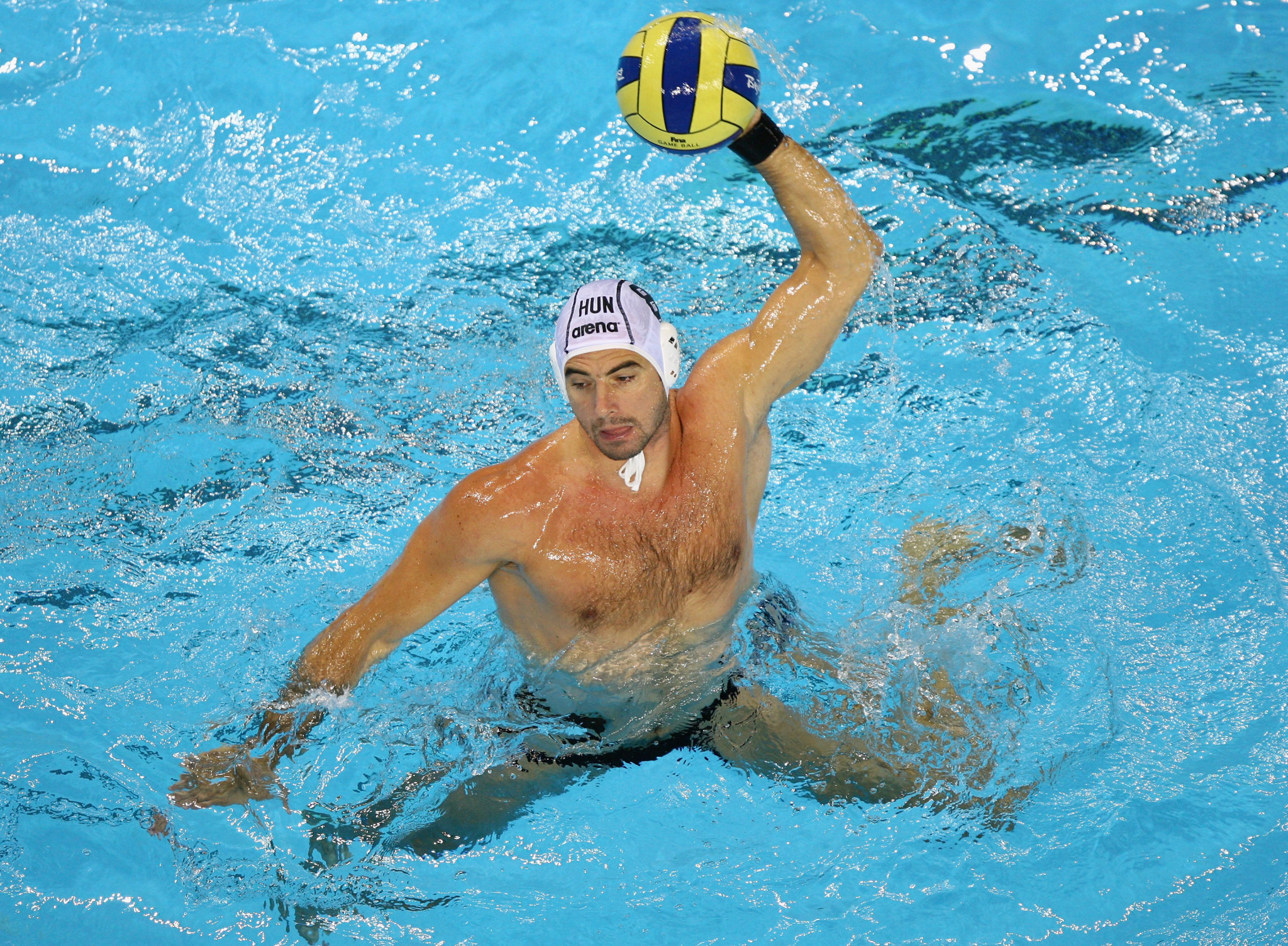 Benedek Tibor won three Olympic water polo titles ©Getty Images