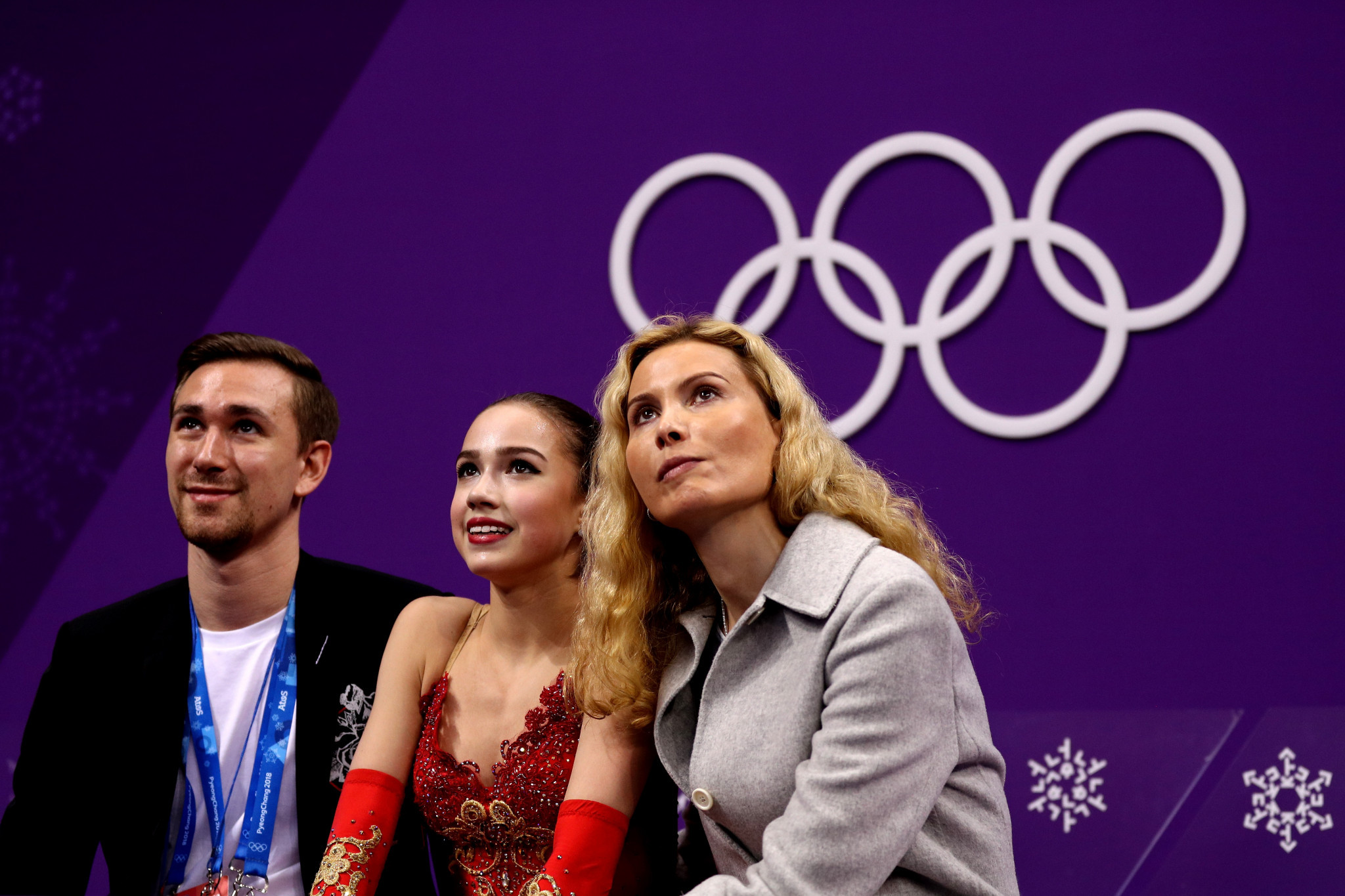 Coach Tutberidze joins Russian figure skaters at Novogorsk training camp