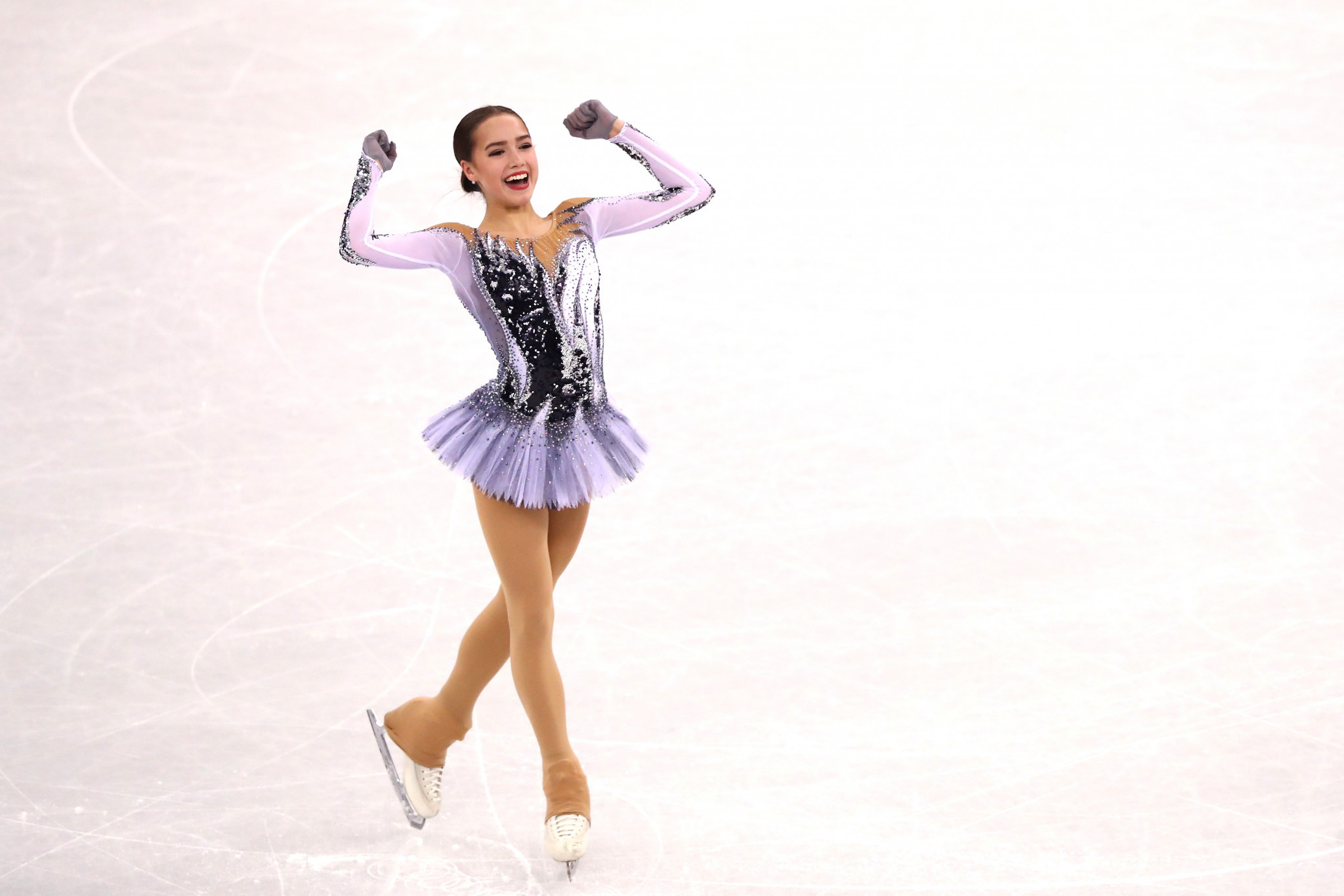 Olympic champion Alina Zagitova is among the athletes at the training camp in Novogorsk ©Getty Images