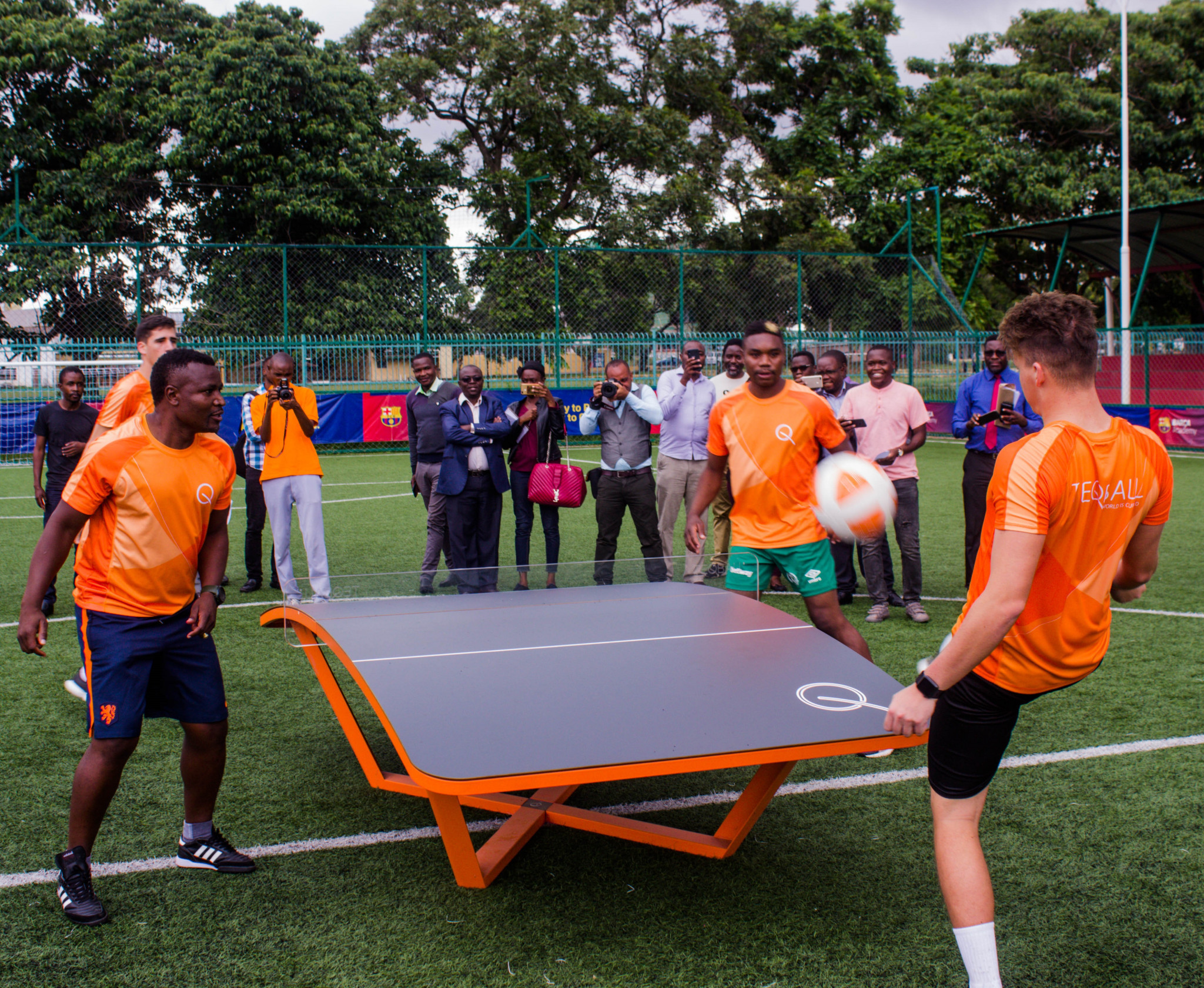 Teqball Federation of Zambia targets 45 teams by 2021