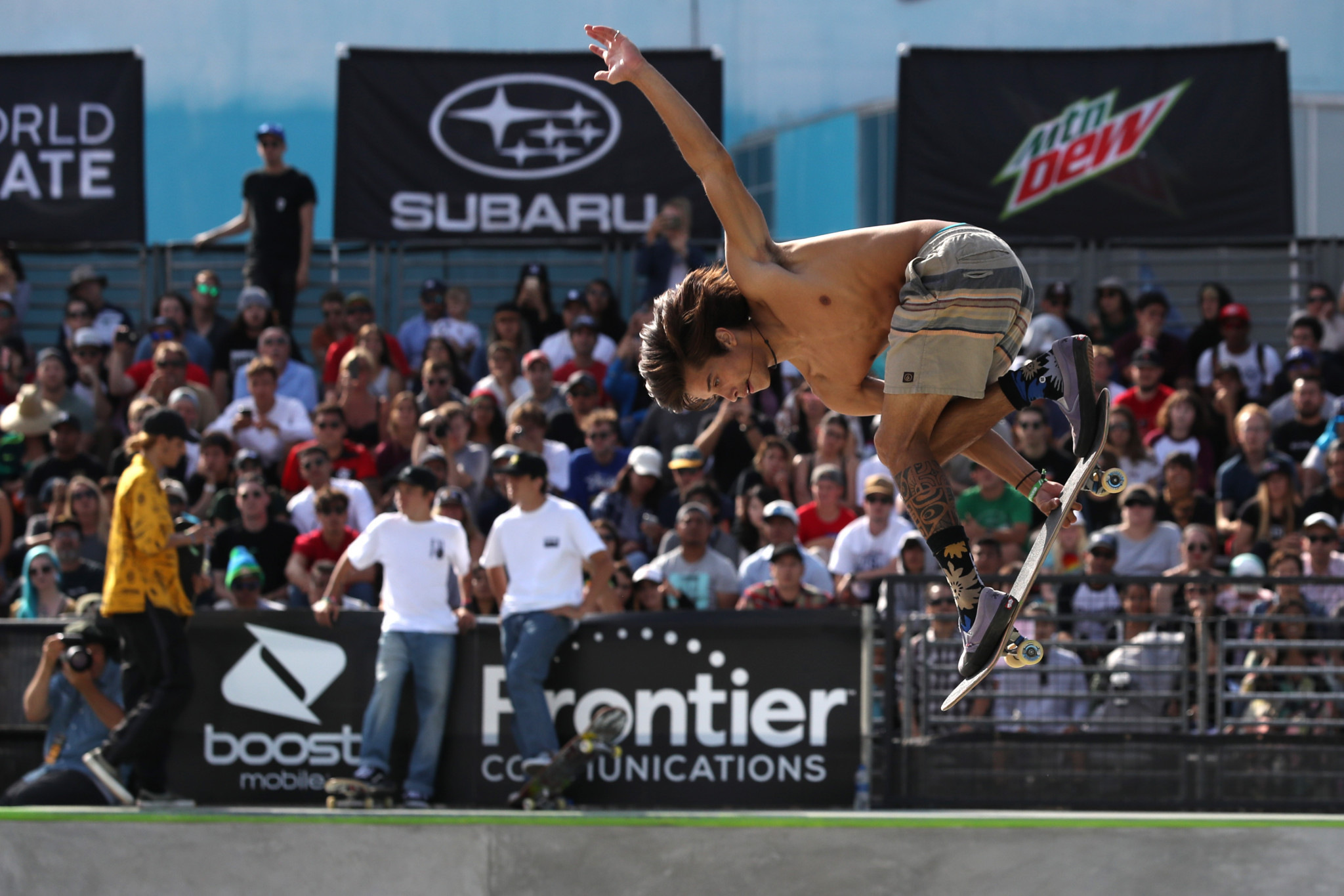 The Long Beach event is an Olympic qualifier for skateboarding's debut at Tokyo 2020 ©Getty Images