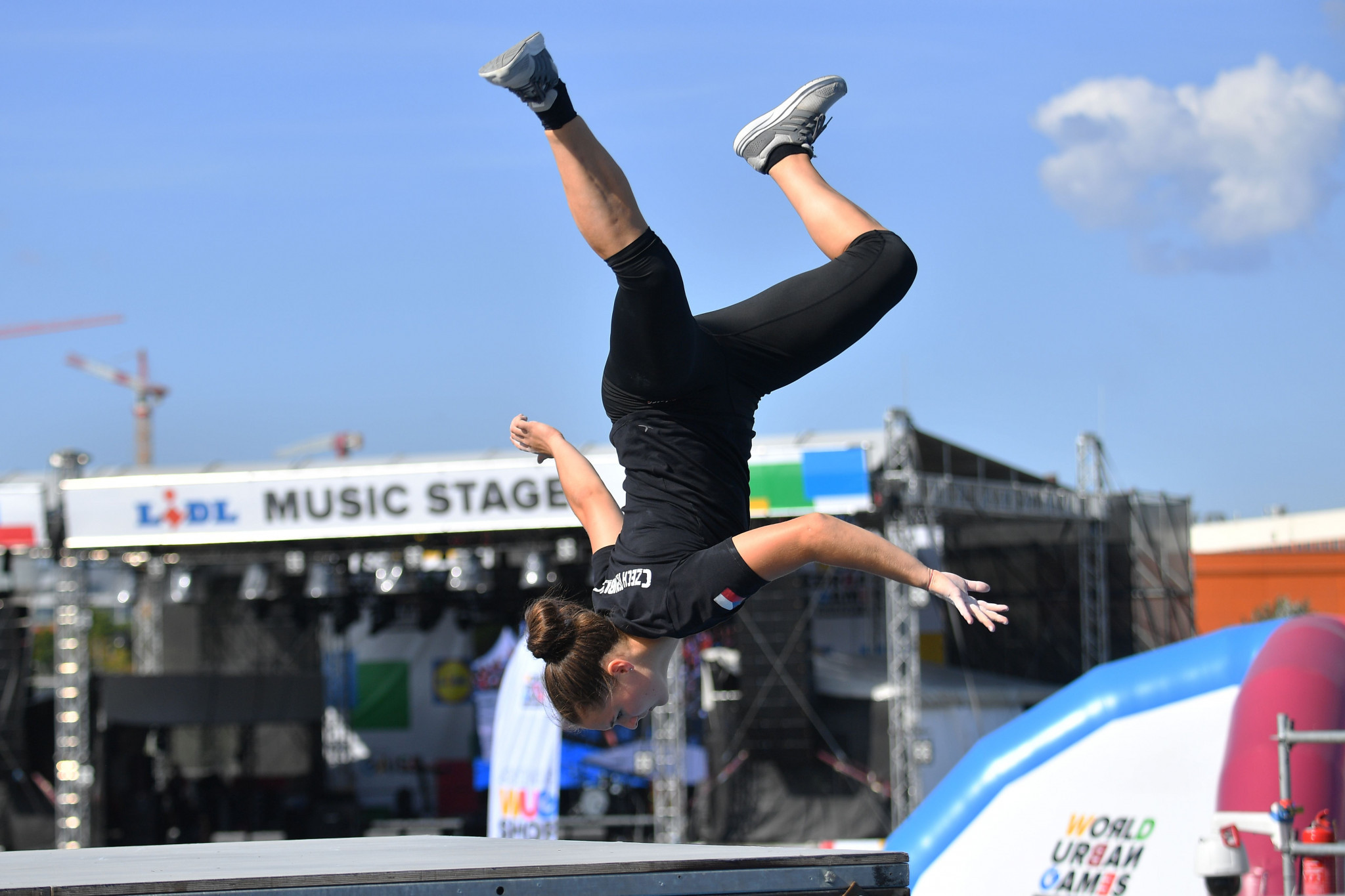 Parkour featured at the World Urban Games last year, with the FIG keen to see it added to the Olympic programme ©Getty Images
