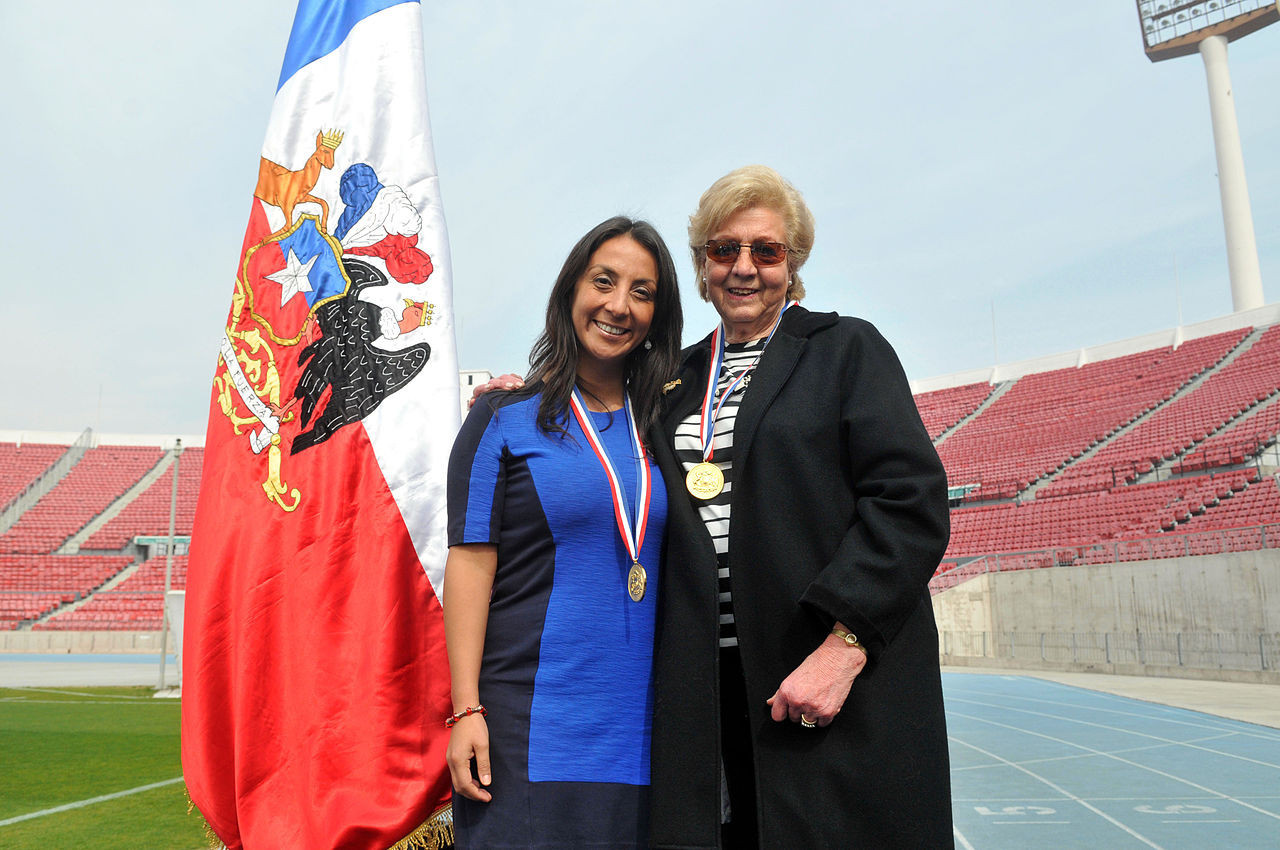 Chile's only female Olympic medallist Ahrens dies aged 87