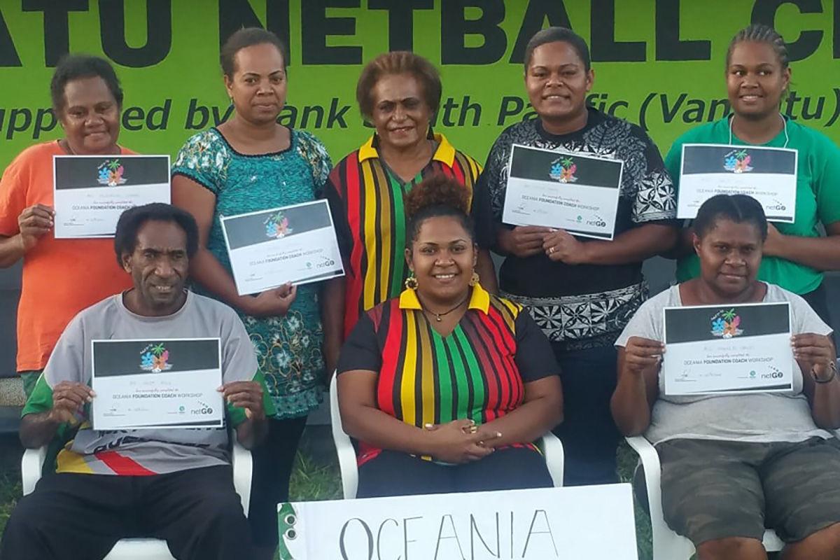 Netball New Zealand launch development workshop in Vanuatu