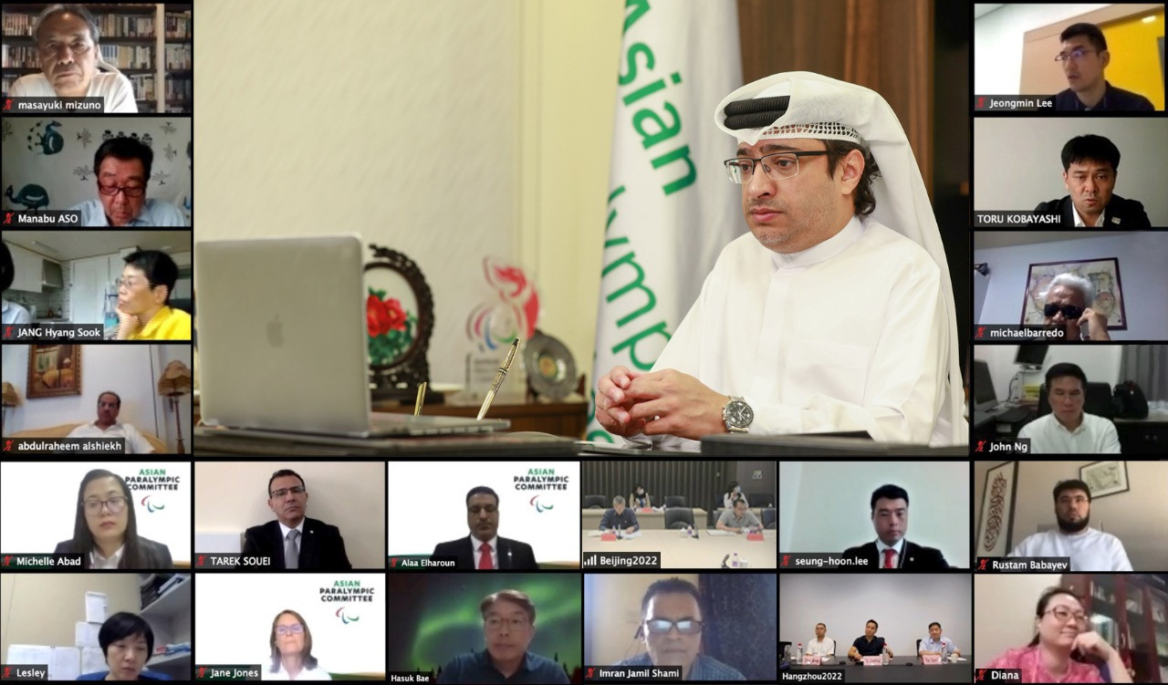 Majid Rashed made the comments during an online APC Executive Board meeting ©APC
