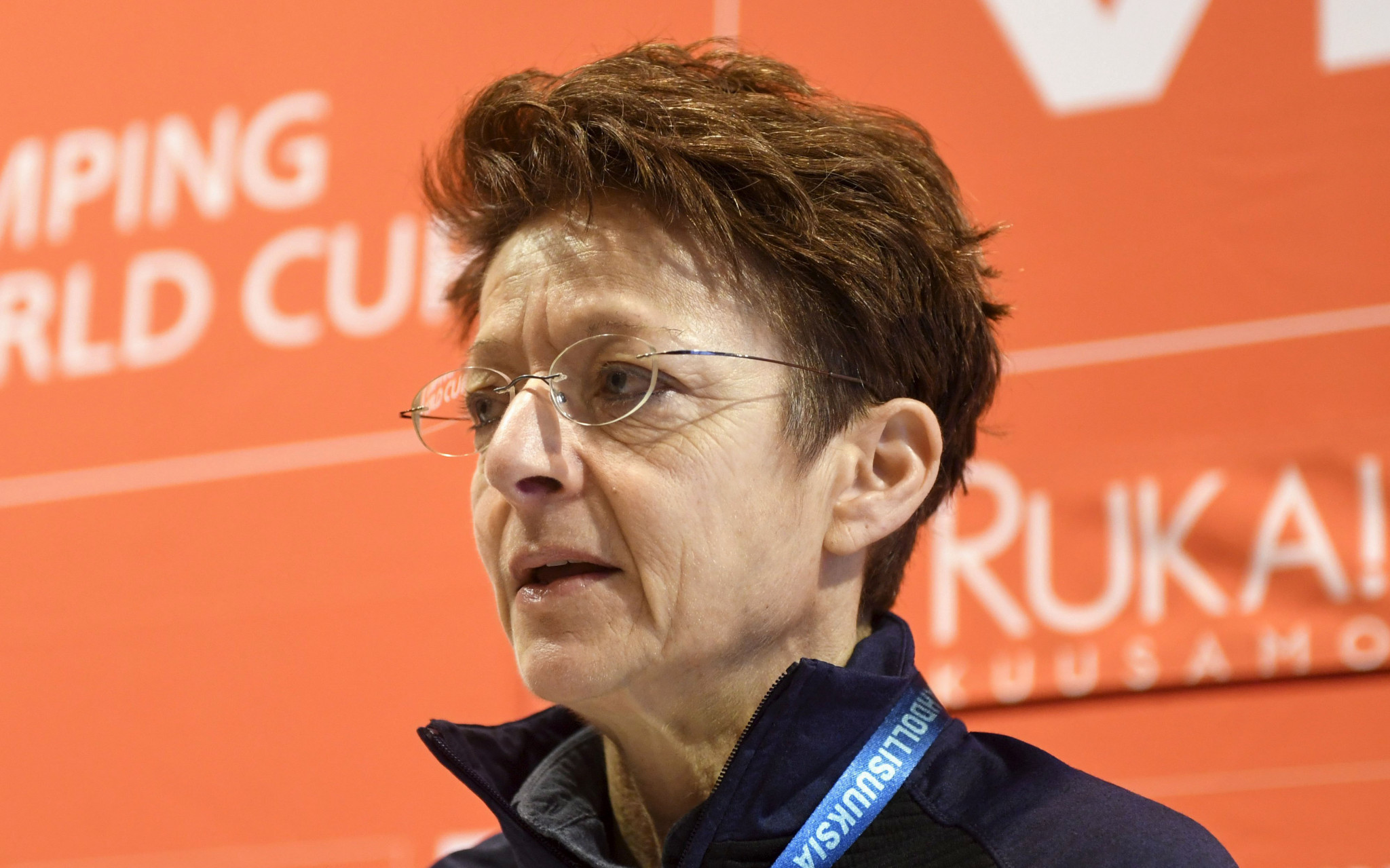 International Ski Federation secretary general Sarah Lewis is part of the Sport4Recovery campaign ©Getty Images