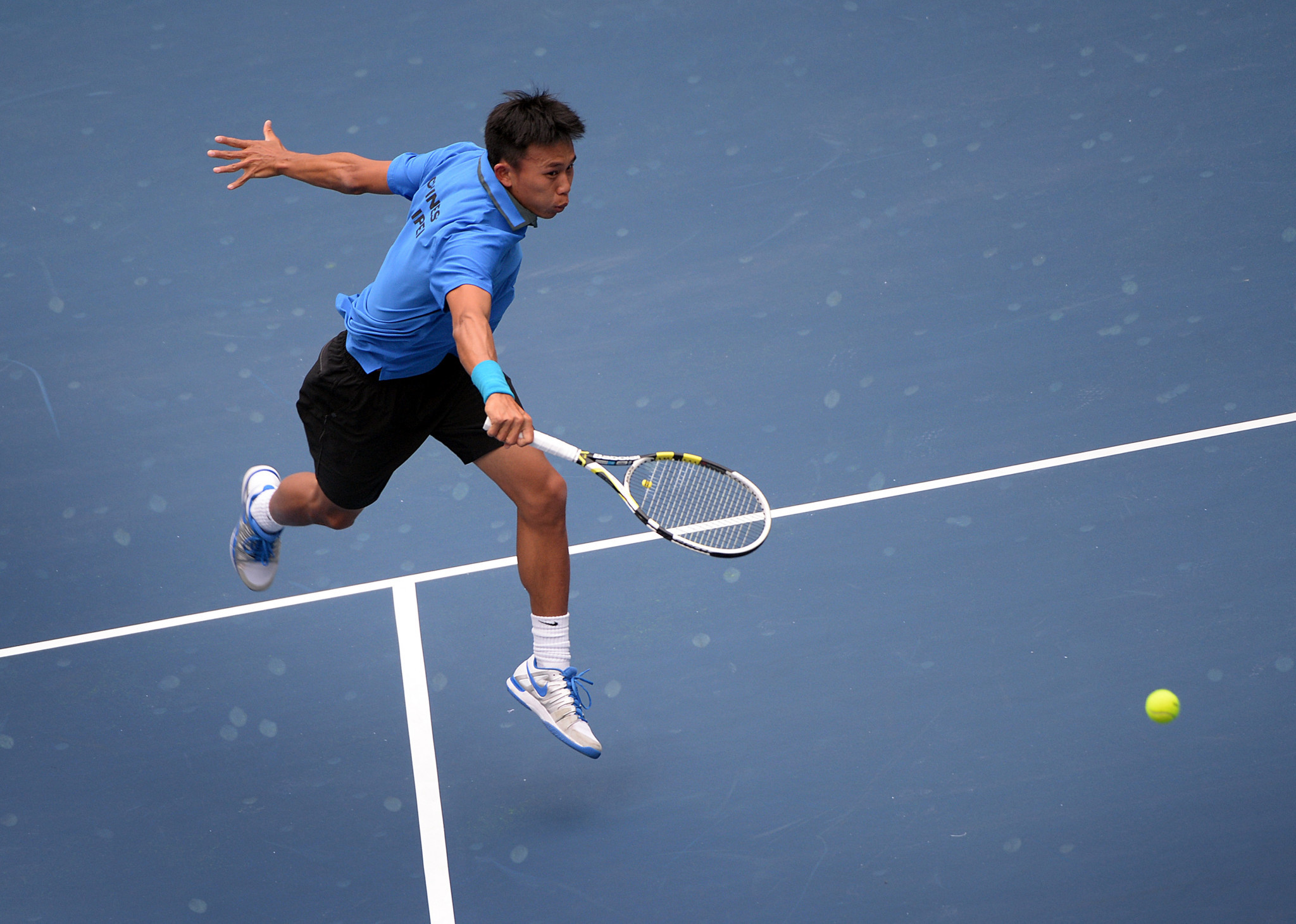 Ti Chen is one of the players on the men's ITF tennis panel ©Getty Images