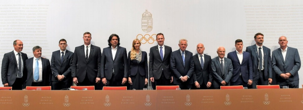 Kulcsar re-elected as President of Hungarian Olympic Committee