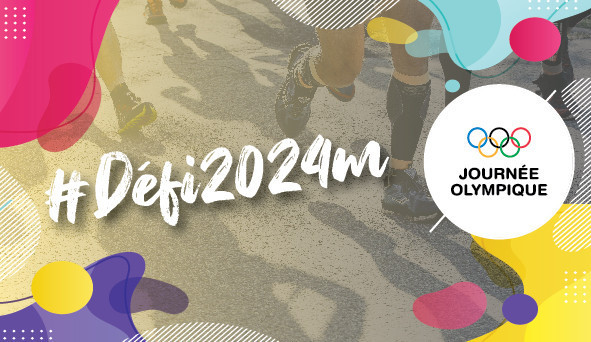 CNOSF encourages France to #Defi2024m for Olympic Day