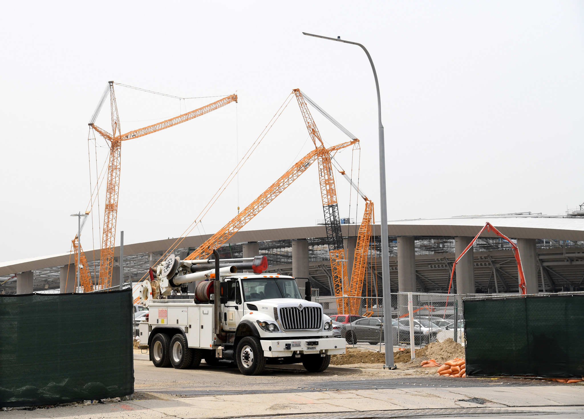 Five more SoFi Stadium construction workers test positive for COVID-19