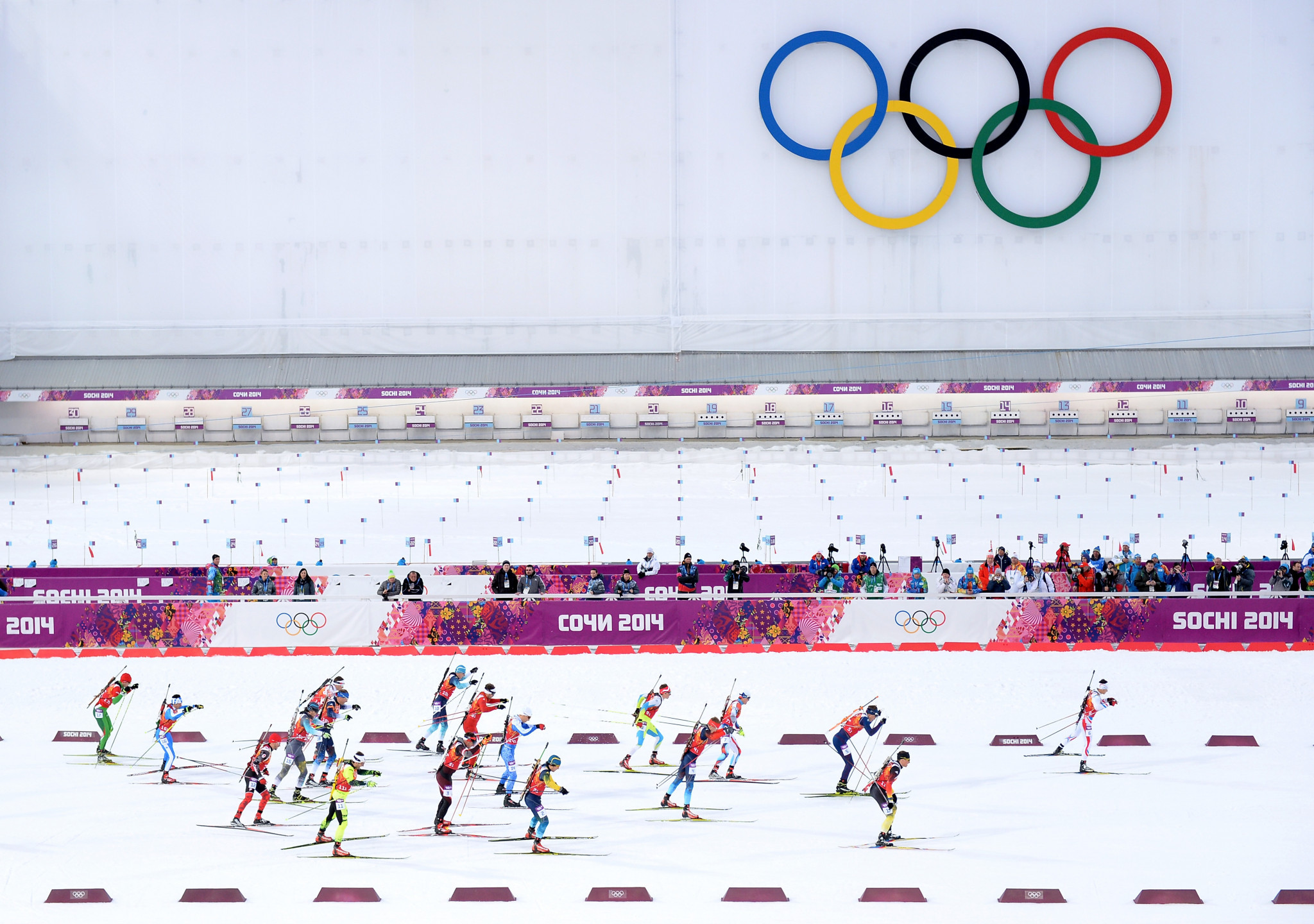 Climate reasons mean Sochi is unlikely to host the Winter Olympics again, the report says ©Getty Images