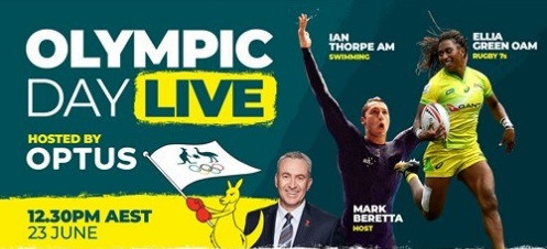 AOC to host live Facebook event with Olympic champions to celebrate Olympic Day