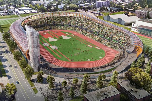 World Athletics Championships venue handed over to University of Oregon