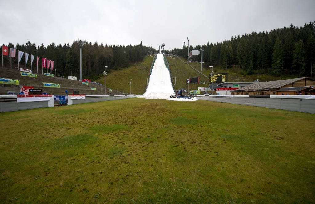 FIS Nordic Combined World Cup in Klingenthal cancelled due to lack of snow