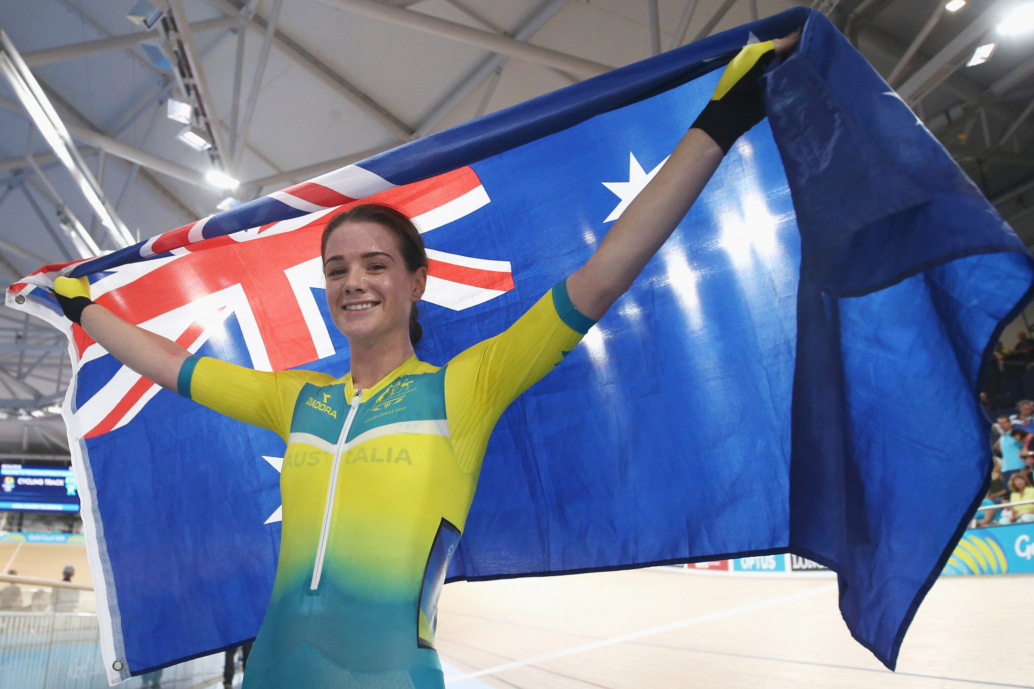 Amy Cure is a two-time Commonwealth Games champion ©Getty Images