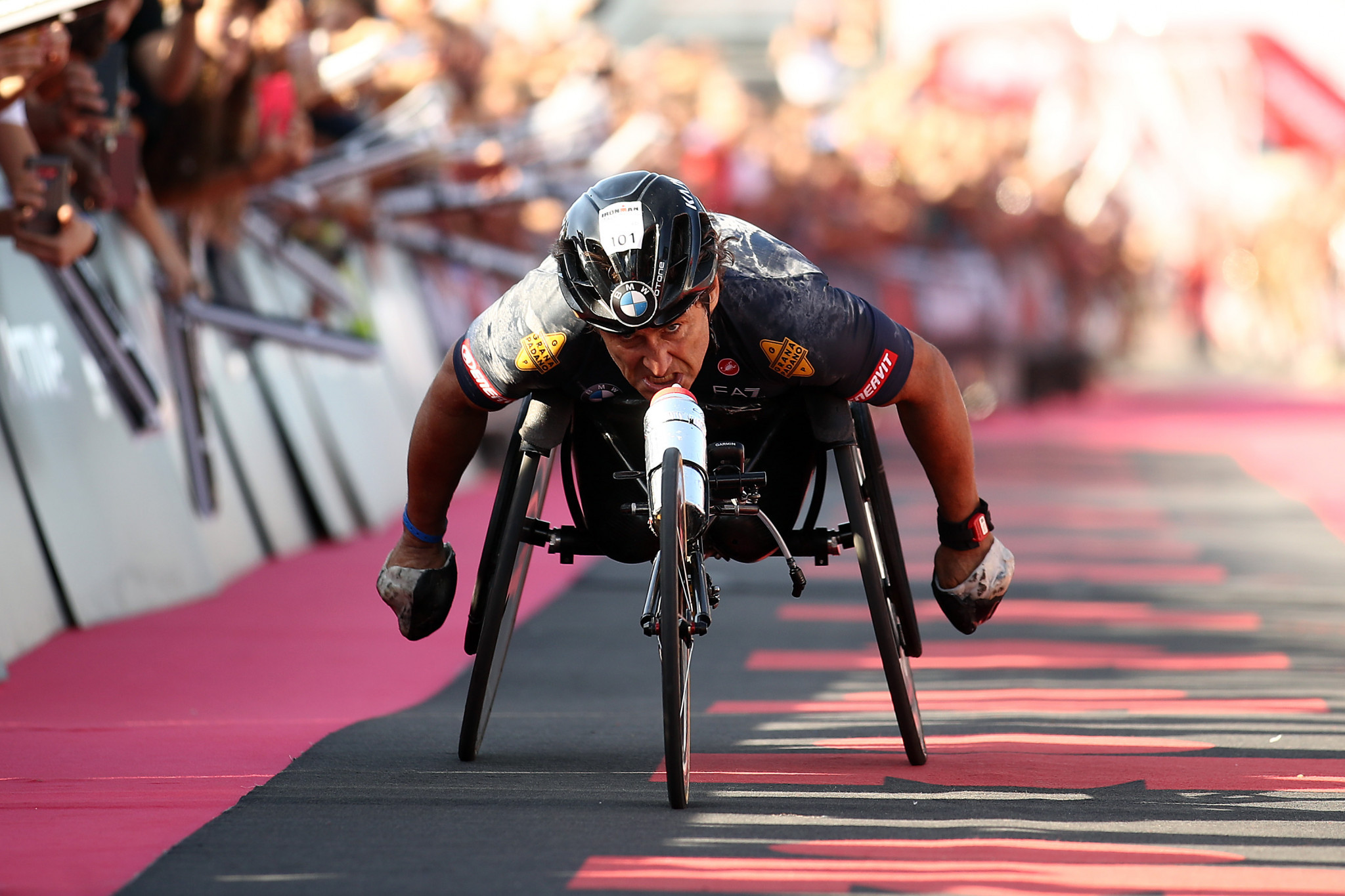 Four-time Paralympic gold medallist Zanardi in serious but stable condition following handcycle crash