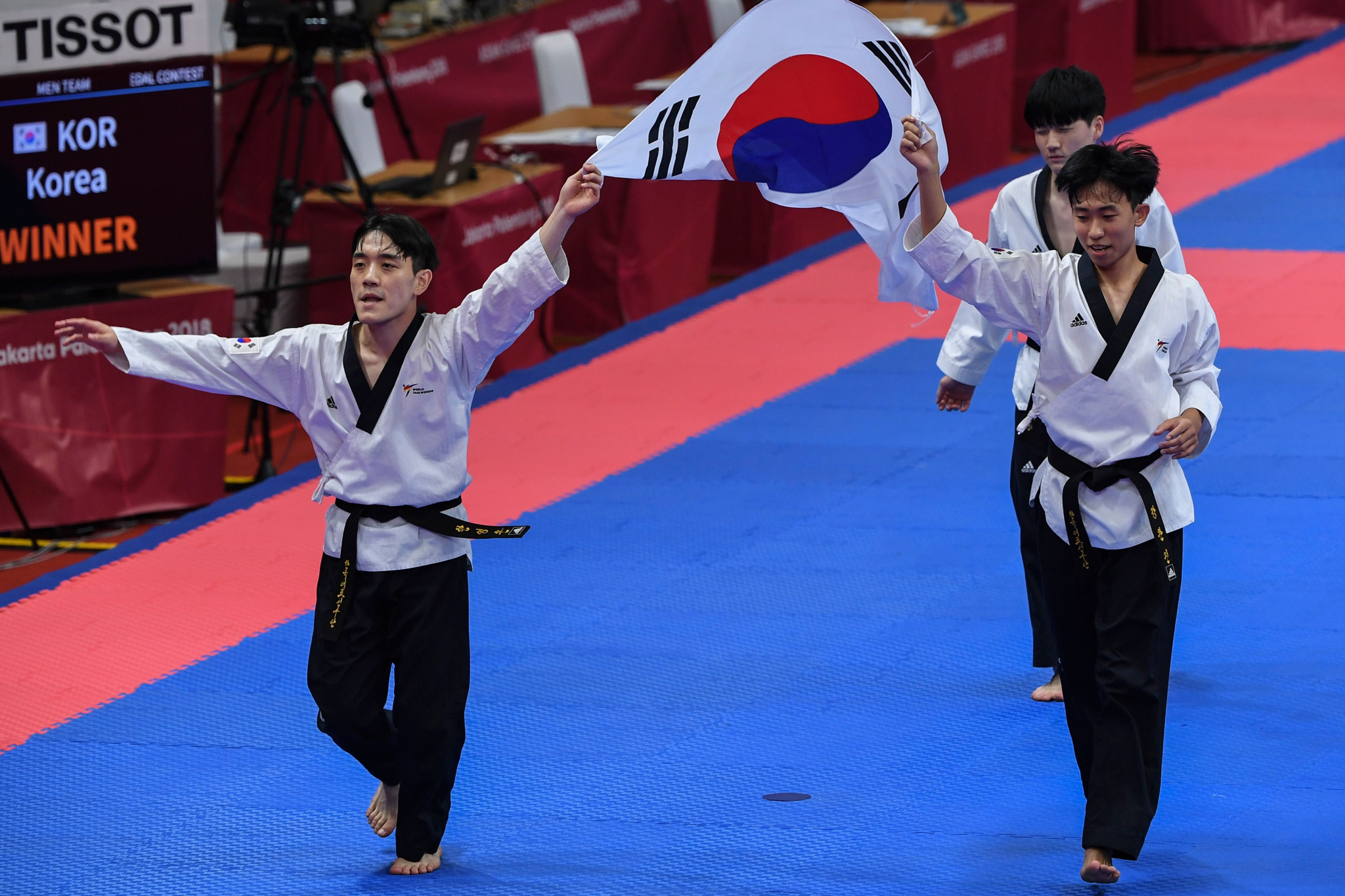 Taekwondo is an important part of Korean culture ©Getty Images