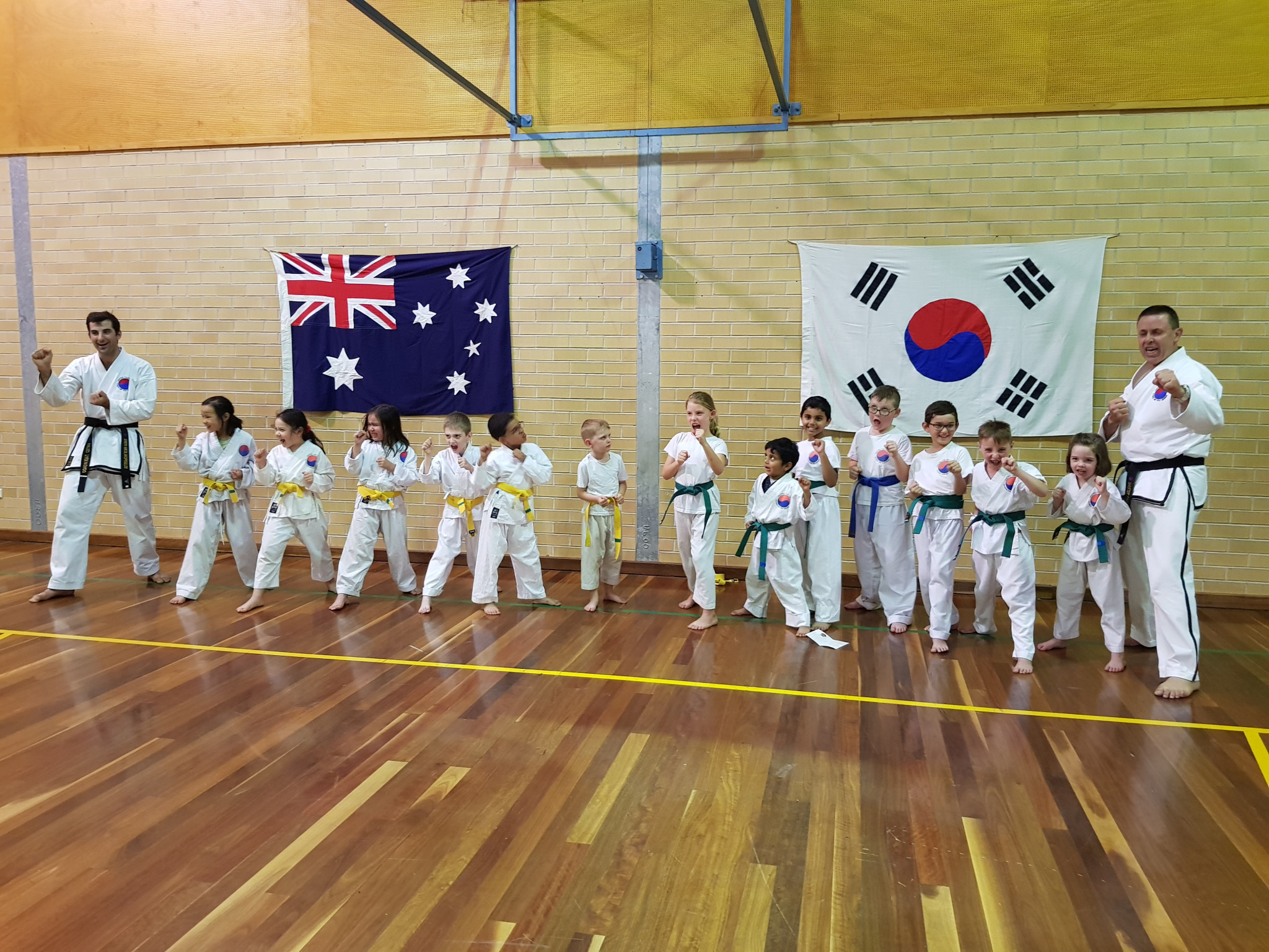 Child safe guidelines and reporting procedures have also been produced by the governing body ©Australian Taekwondo