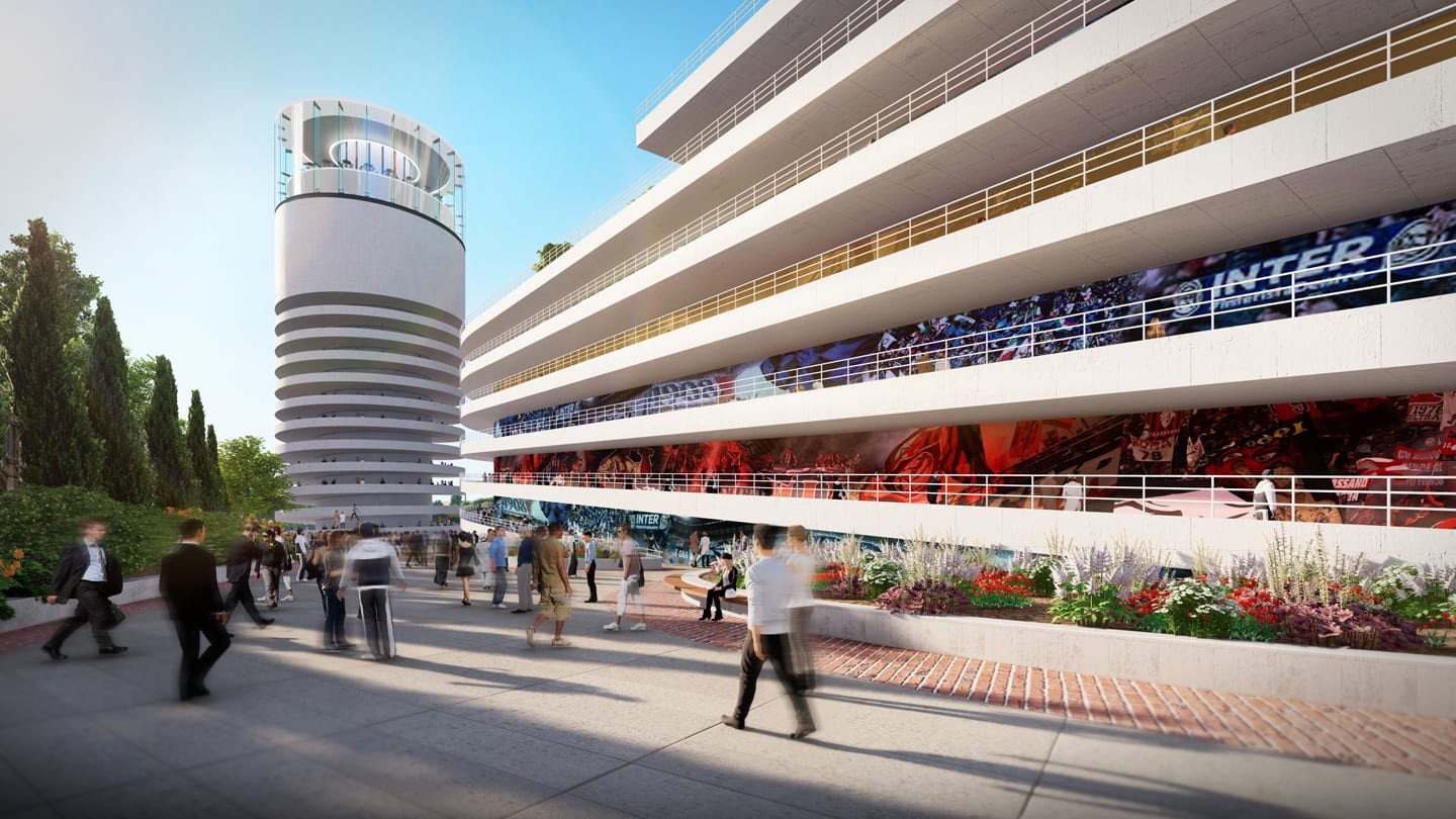 New images of proposed San Siro stadium project released