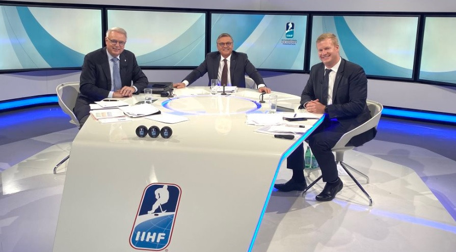 IIHF President Fasel's term extended by a year as Semi-Annual Congress postponed