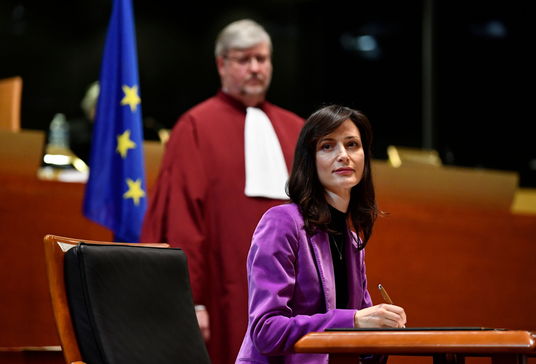 Mariya Gabriel is the European Commissioner for innovation, research, culture, education and youth ©Getty Images