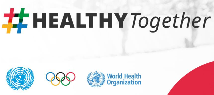 IOC mark Olympic Day by launching #HEALTHYTogether partnership with UN and WHO